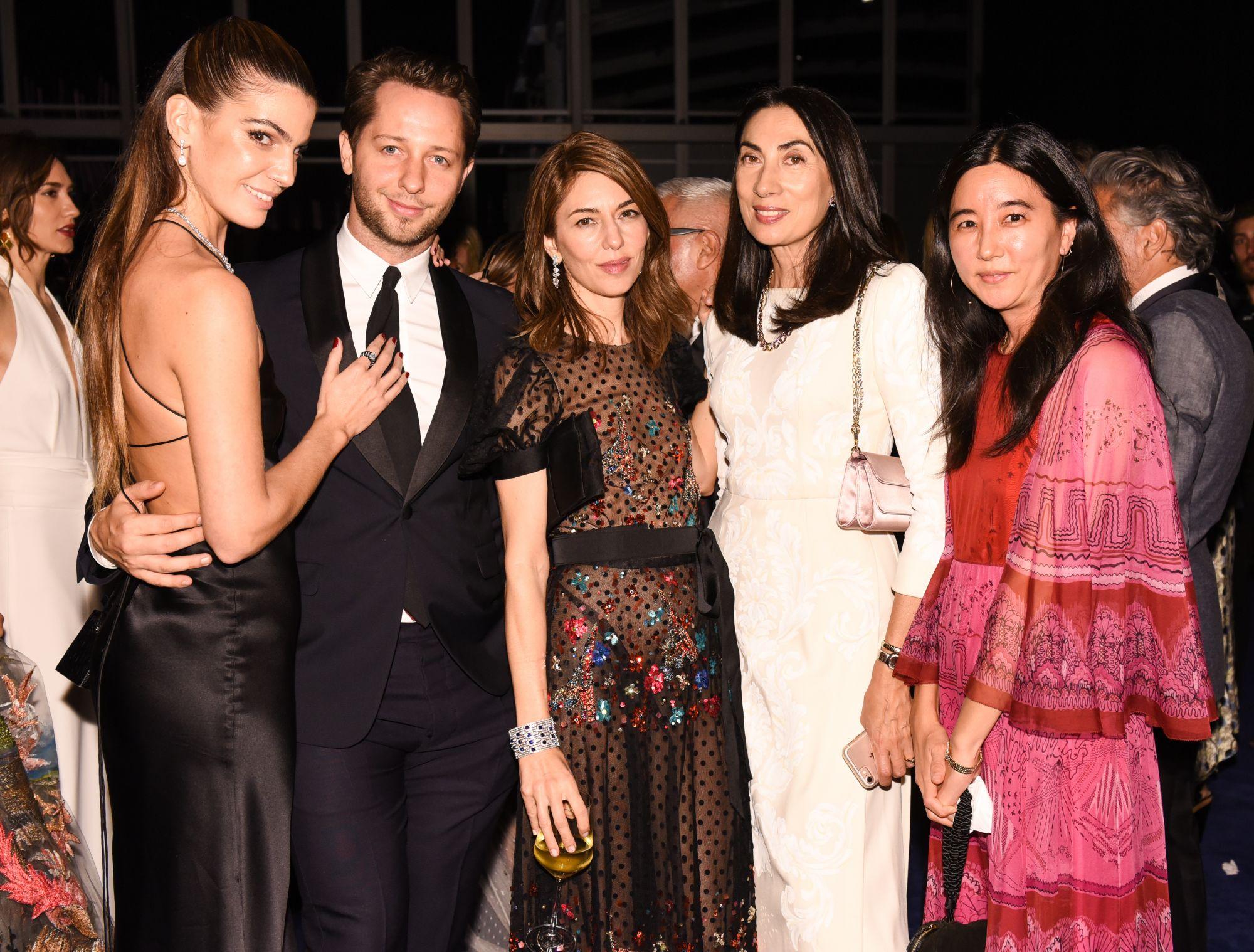 Bianca Brandolini, Derek Blasberg, Sofia Coppola, Anh Duong, Tina Cha