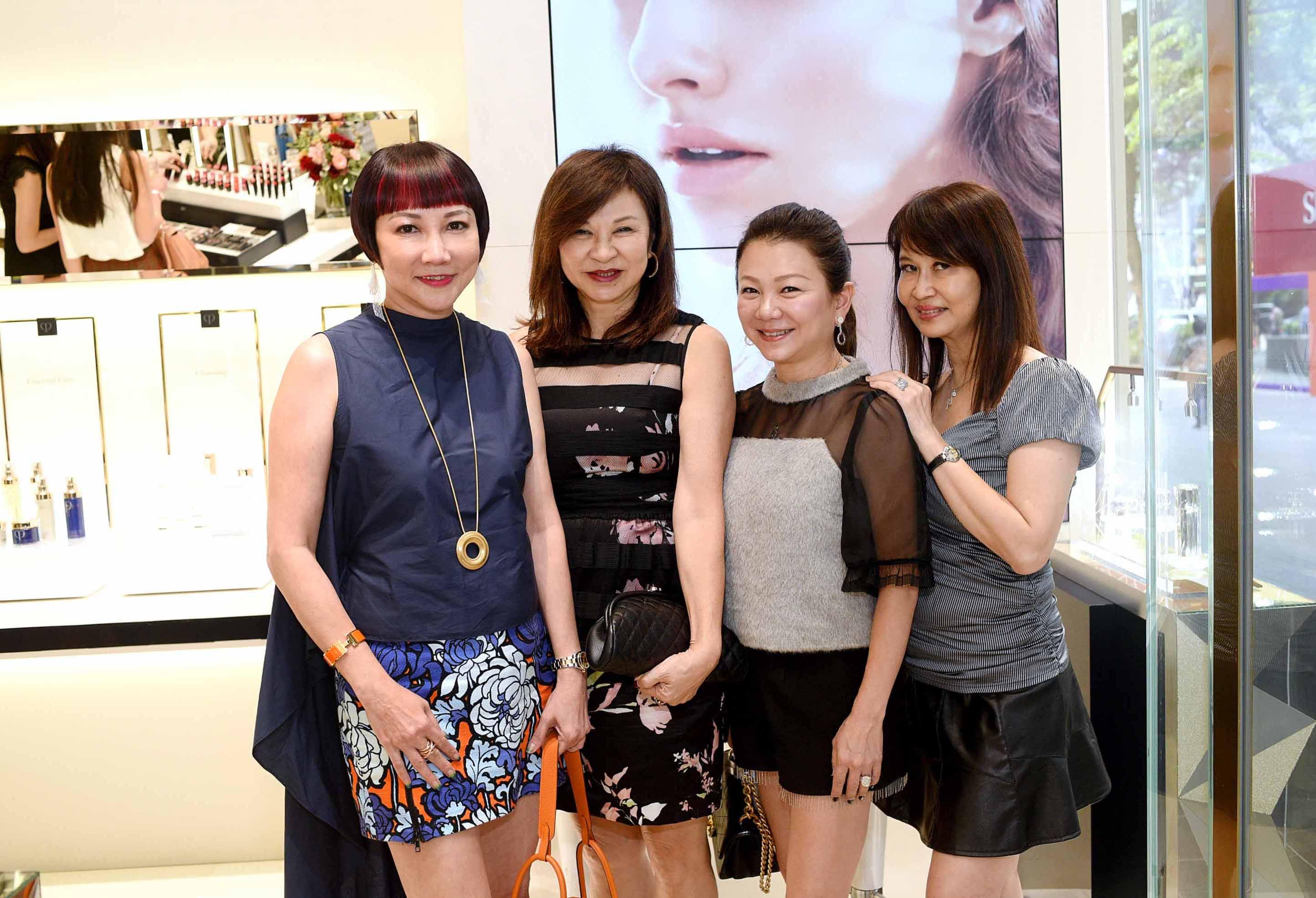 Frances Low, Violet Yeo, Angela Ng, Evelyn Sam