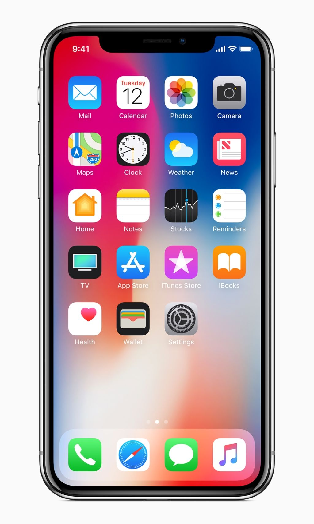 Apple iPhone X (Image credits to Apple)