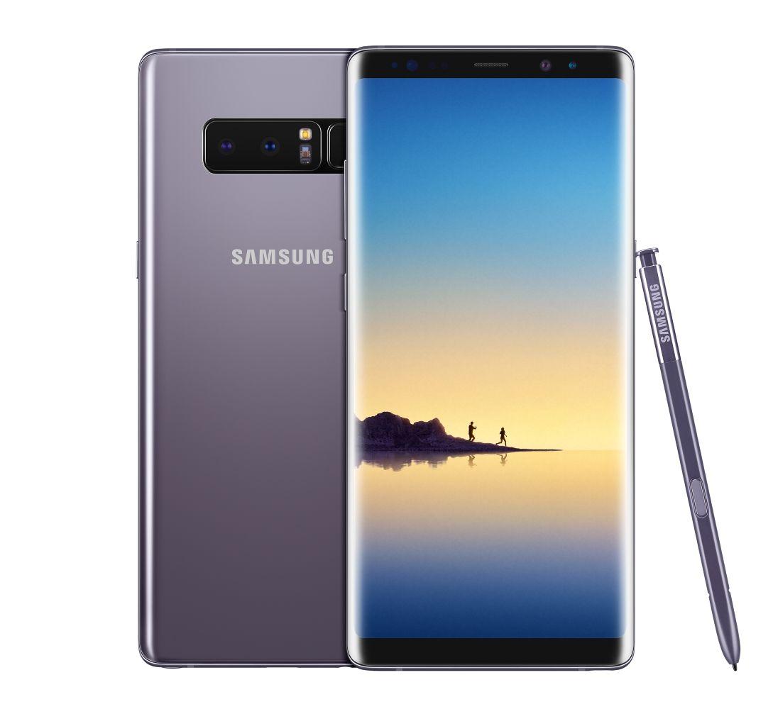 Samsung Galaxy Note 8 (Image credits to Samsung)