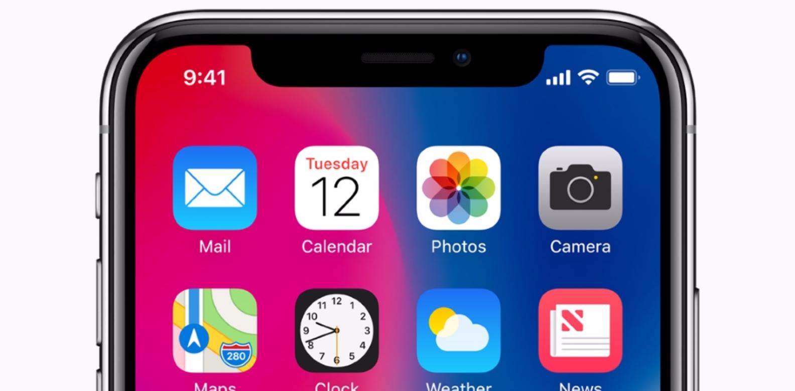 Apple iPhone X (Image credits to Apple)