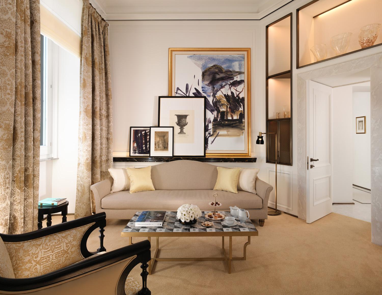 Hotel Eden Roma Suite Living room