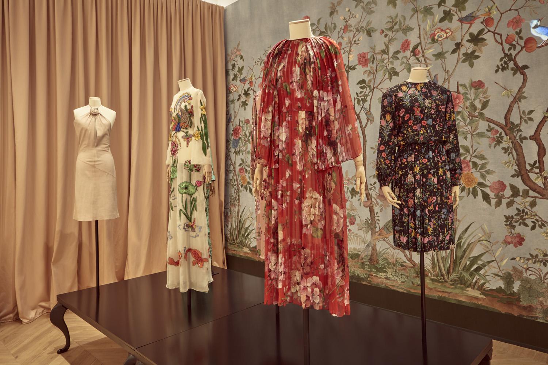 Gucci Garden exhibition display