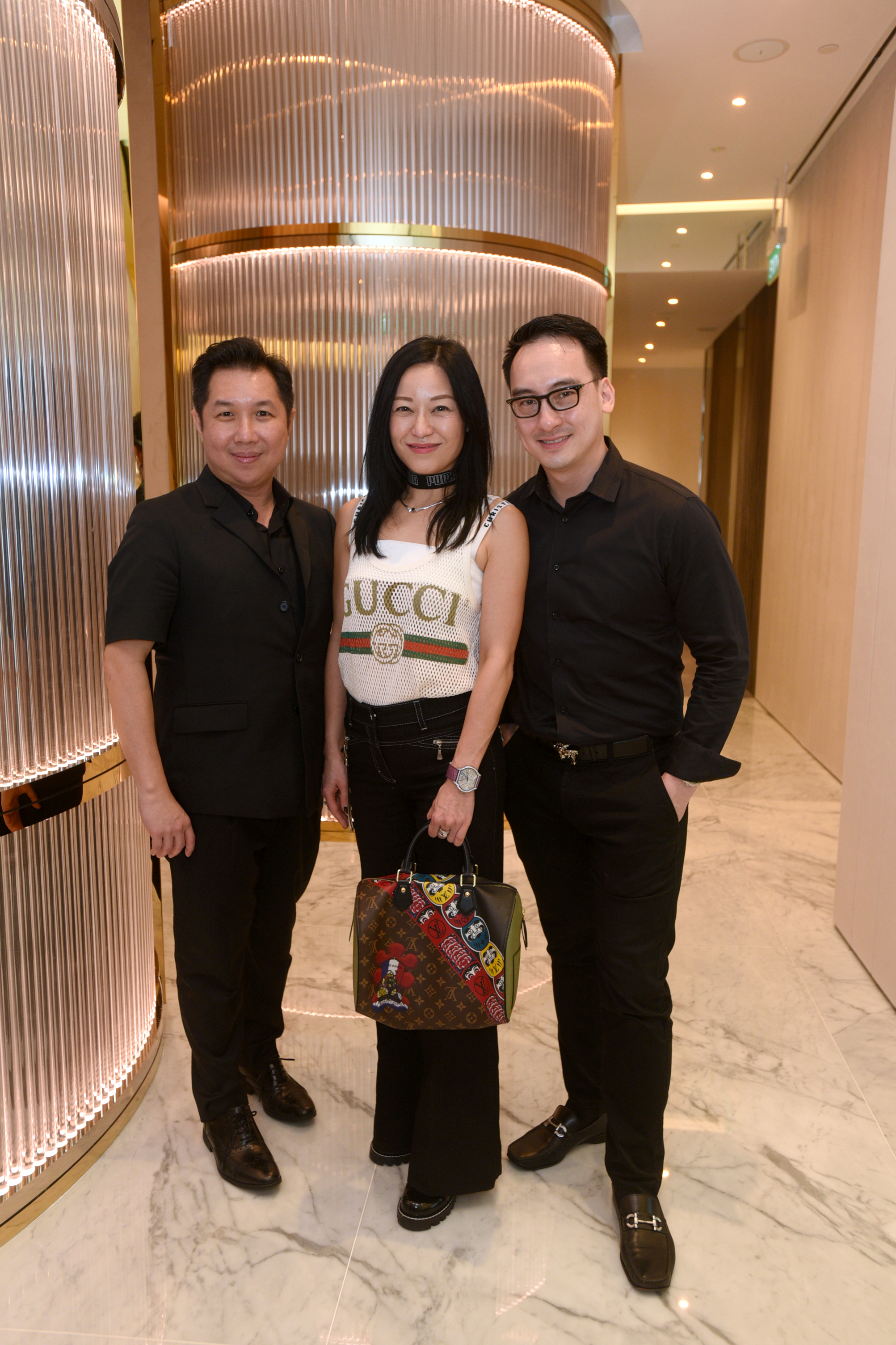 Dr. Frank Lee, Nina Ng, Dr. Christopher Looi