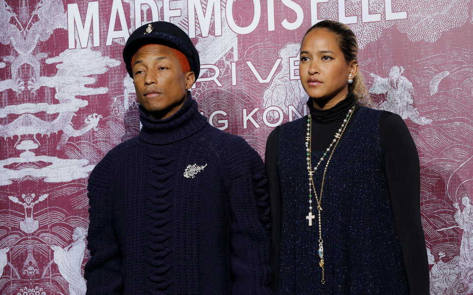 Pharrell Williams, Helen Lasichanh