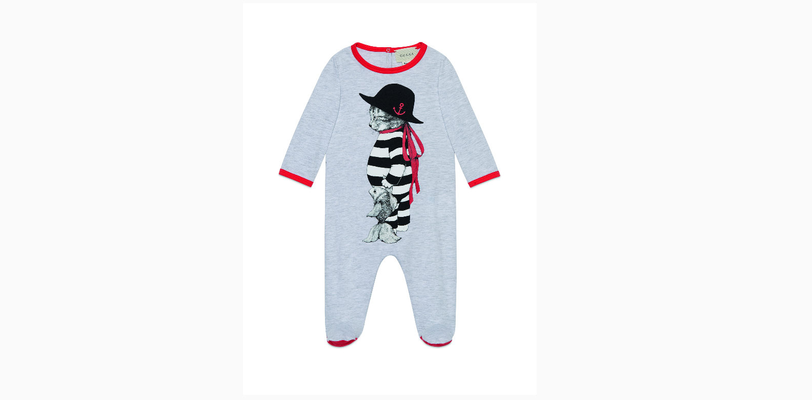 """Gucci x Yuko Higuchi romper; B1-58 The Shoppes at Marina Bay Sands""""We've been fans of Gucci this season, and this onesie is super adorable."""" -Cheryl"""
