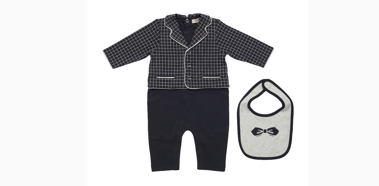 """Armani Junior baby romper set; B1-62 The Shoppes at Marina Bay Sands""""This is my top pick—so stylish"""" -Roy"""