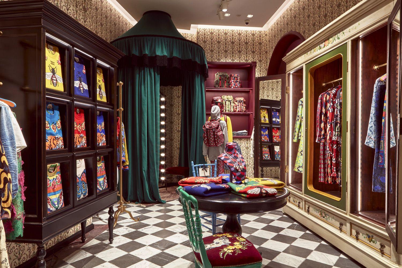 Gucci Garden retail