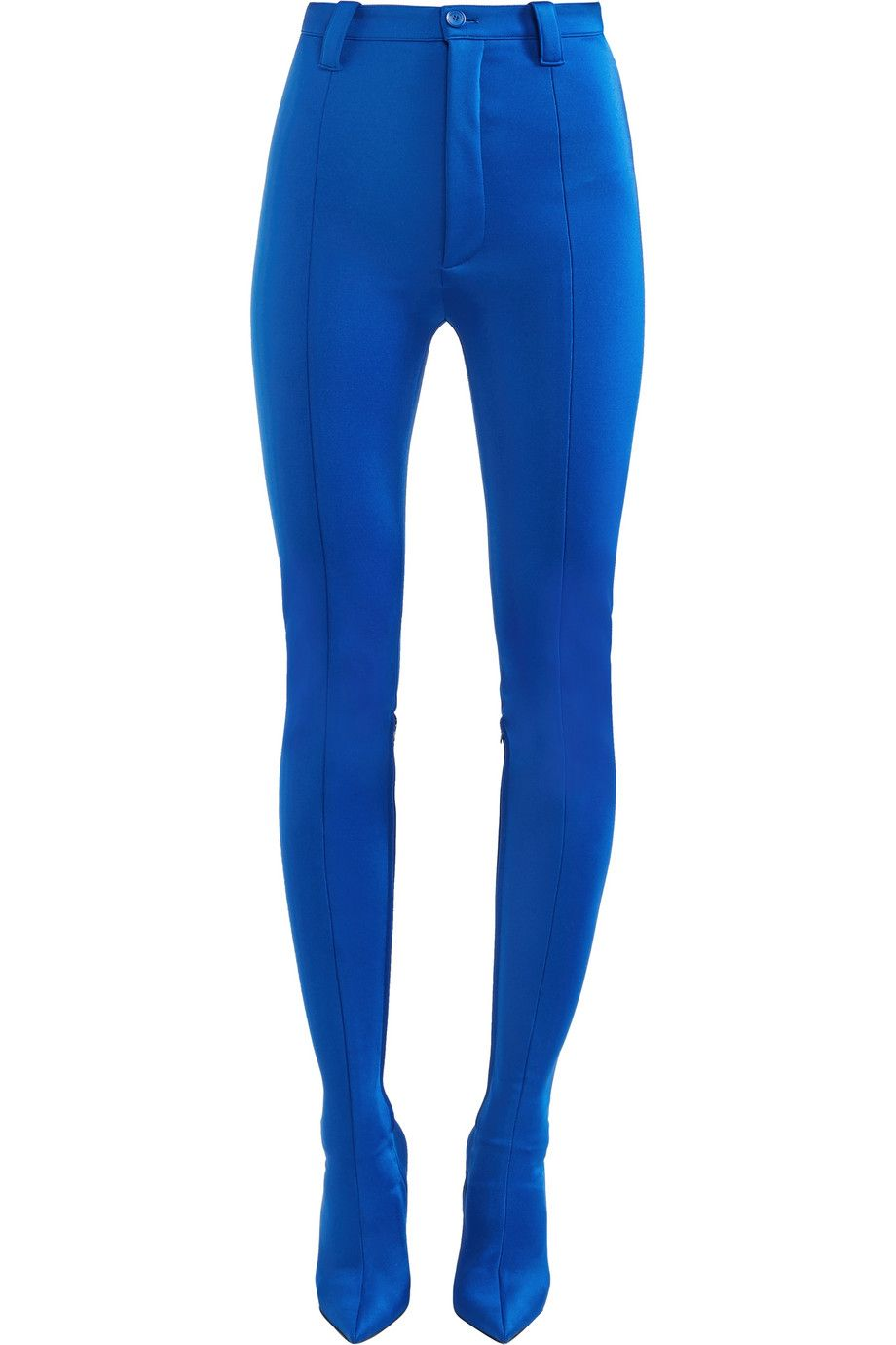 Net-A-Porter x Balenciaga Pantashoe spandex skinny pants