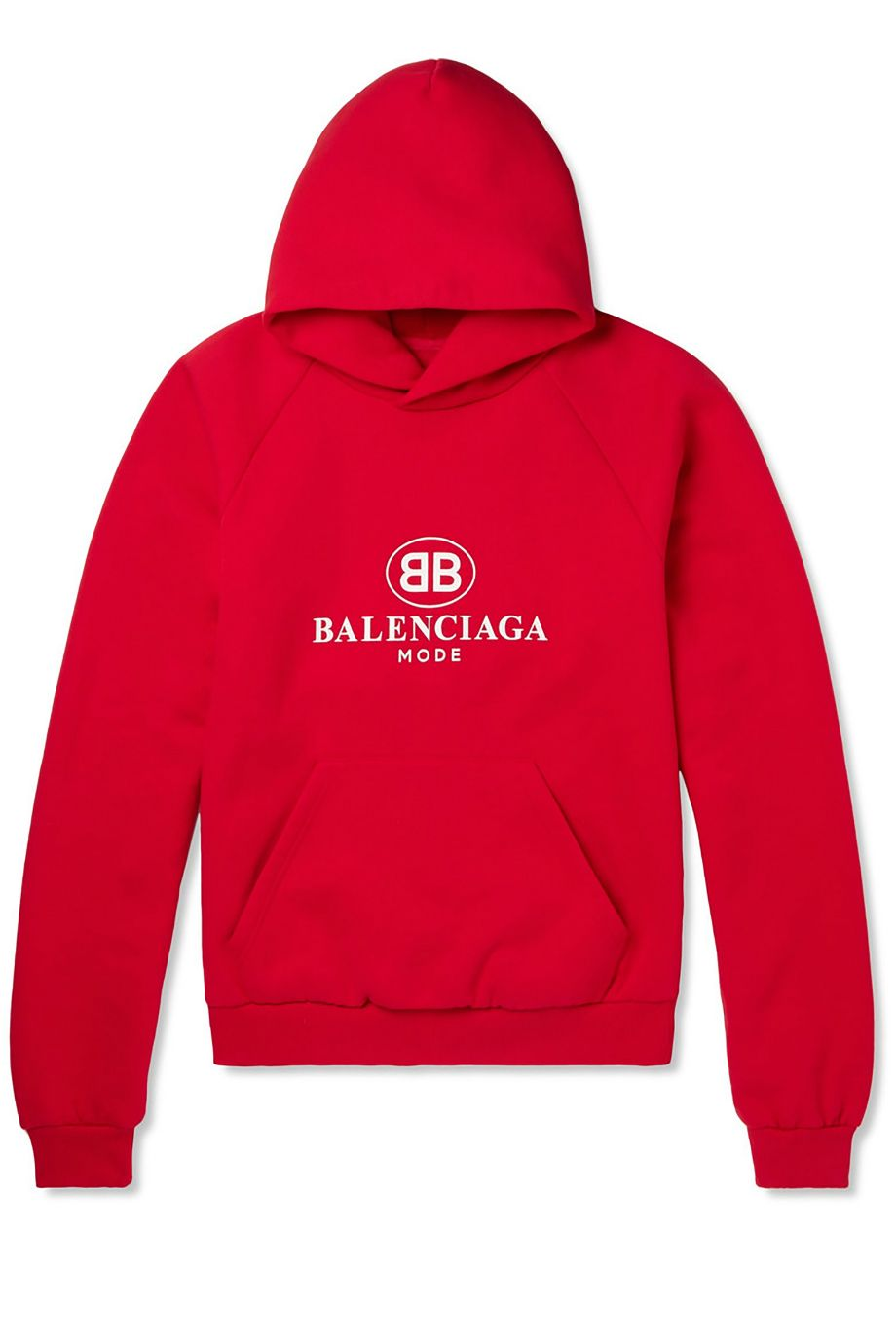 MR PORTER X BALENCIAGA Oversized Printed Fleece-Back Cotton-Blend Jersey Hoodie