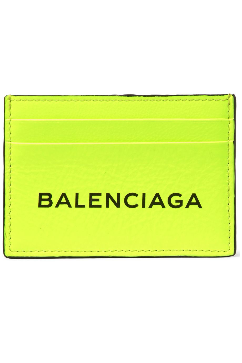 MR PORTER X BALENCIAGA Everyday Printed Textured-Leather Cardholder