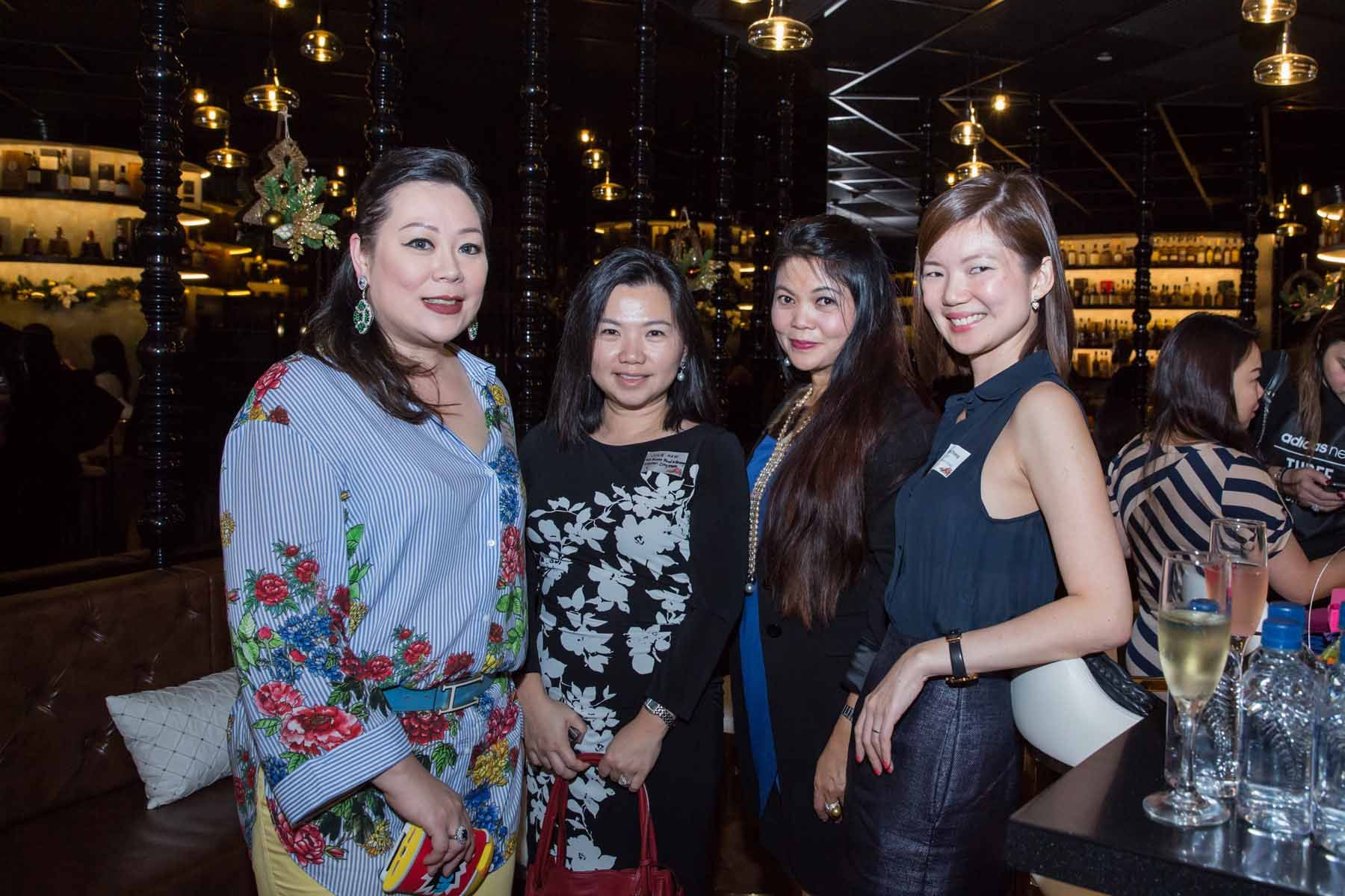 Cheryl Lee, Julie Haw, Jocelyn Chng, Grace Chiong