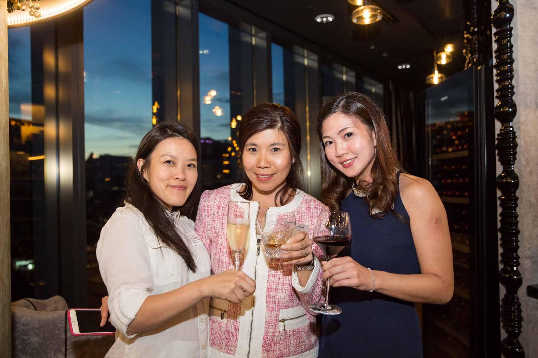 Cindy Teoh, Audrey Kuah, Cecilia Phua