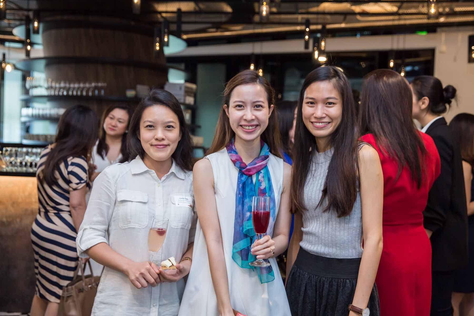 Cindy Teoh, Phuong Nguyen, Tan Peck Ying