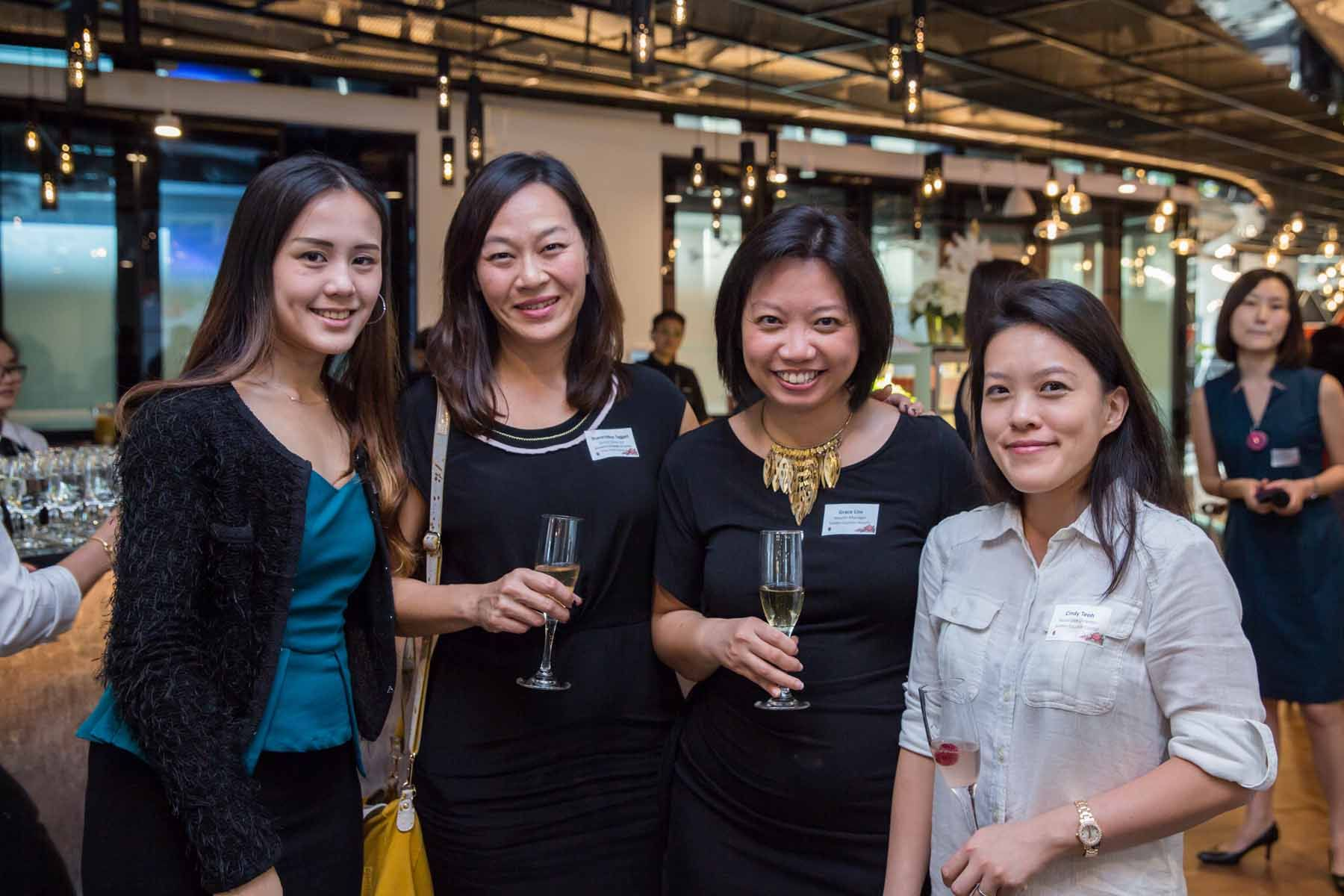 Goh Shi Hui, Sharon Moo Taggart, Grace Lim, Cindy Teoh