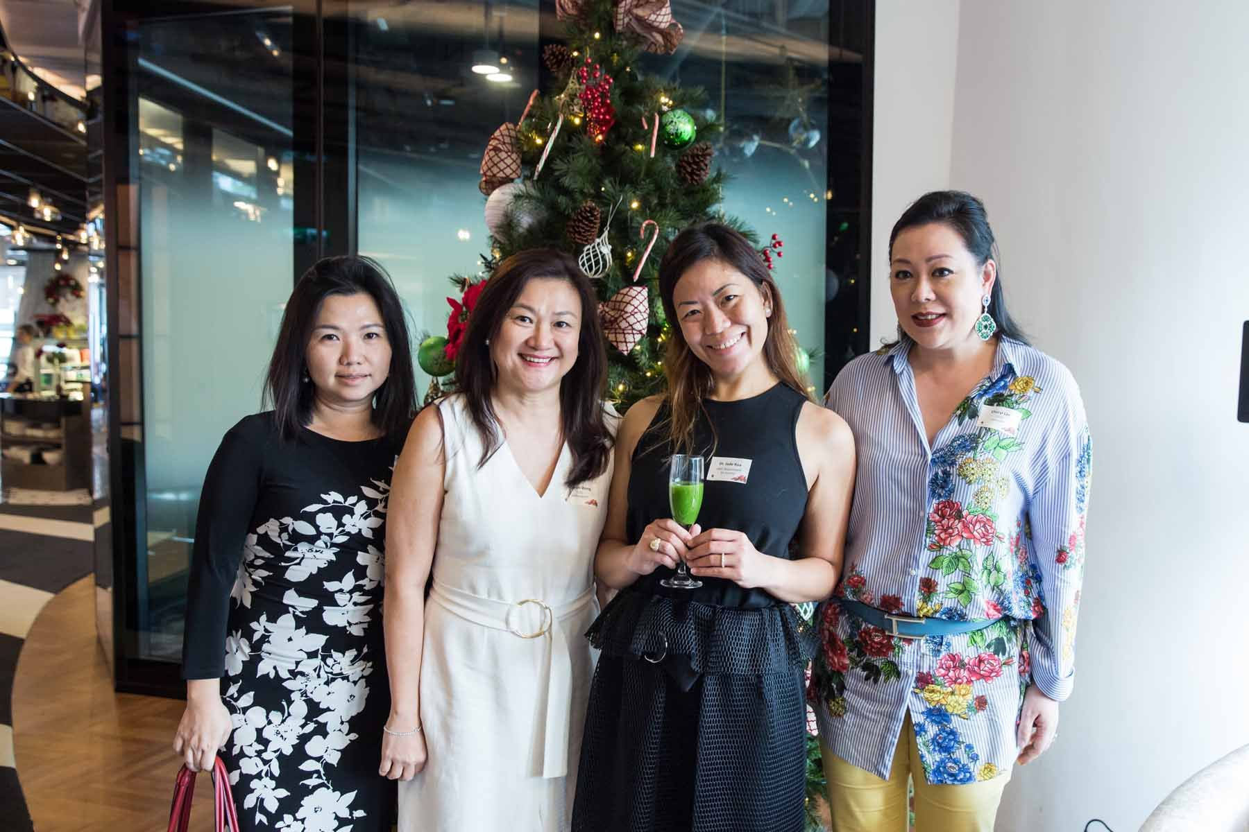 Julie Haw, Sharon Wong, Jade Kua, Cheryl Lee