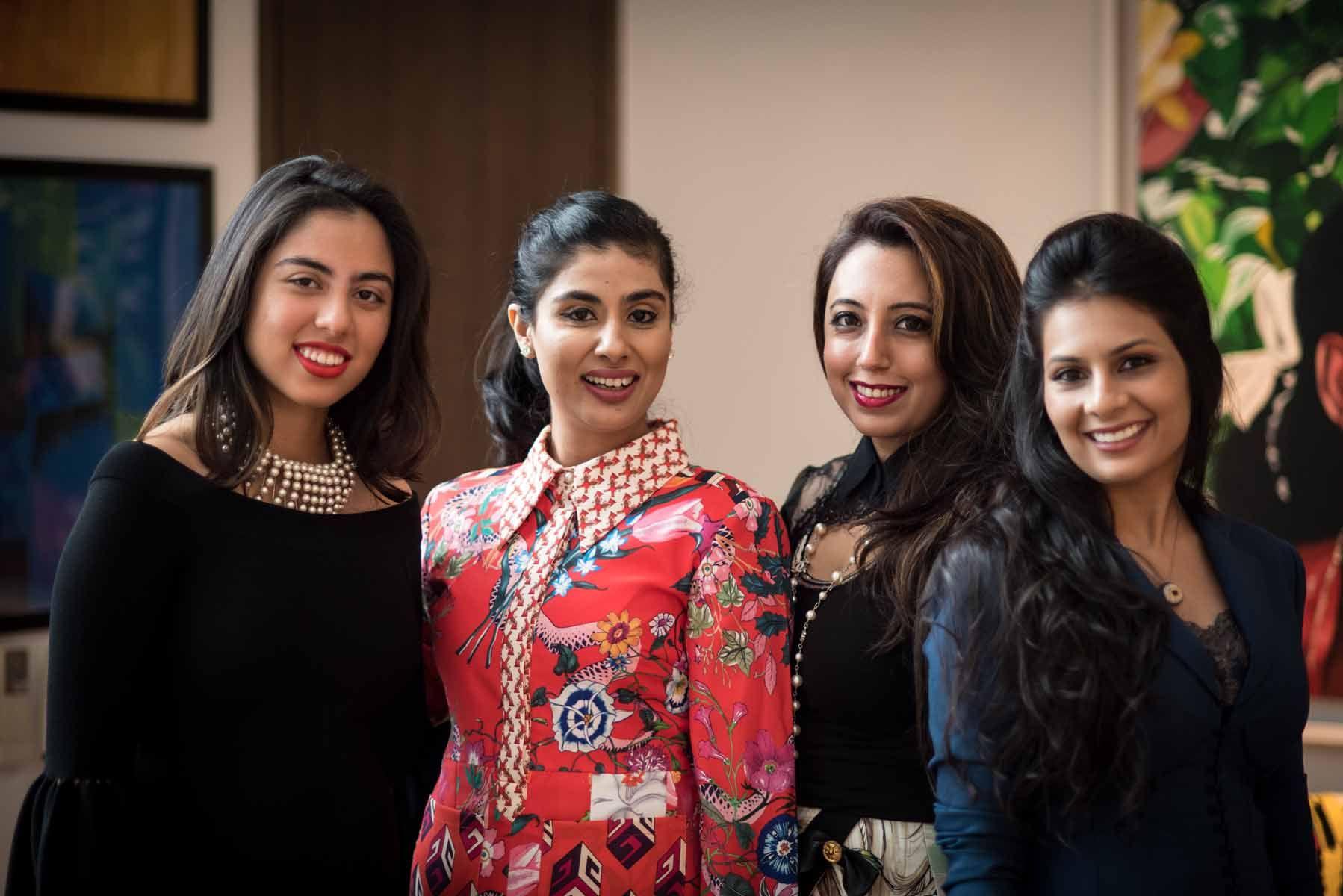 Shaila Hiranandani, Nayantara Dhillon, Dimple Aswani, Prerna Jhunjhunwala