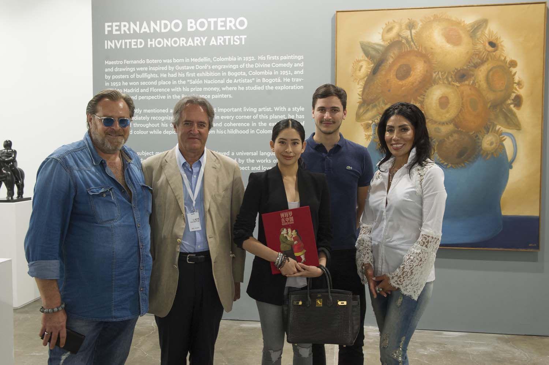 Lorenzo Rudolf, Fernando Botero Zea, Tunku Tun Aminah Maimunah Iskandariah, Dennis Muhammad Abdullah, Maria Elena Rudolf