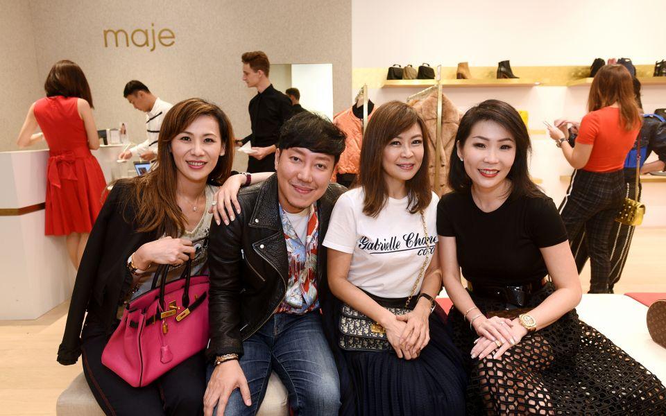 Carol Shieh, Desmond Lim, Alicia Thien, Elaine Lim-Chan