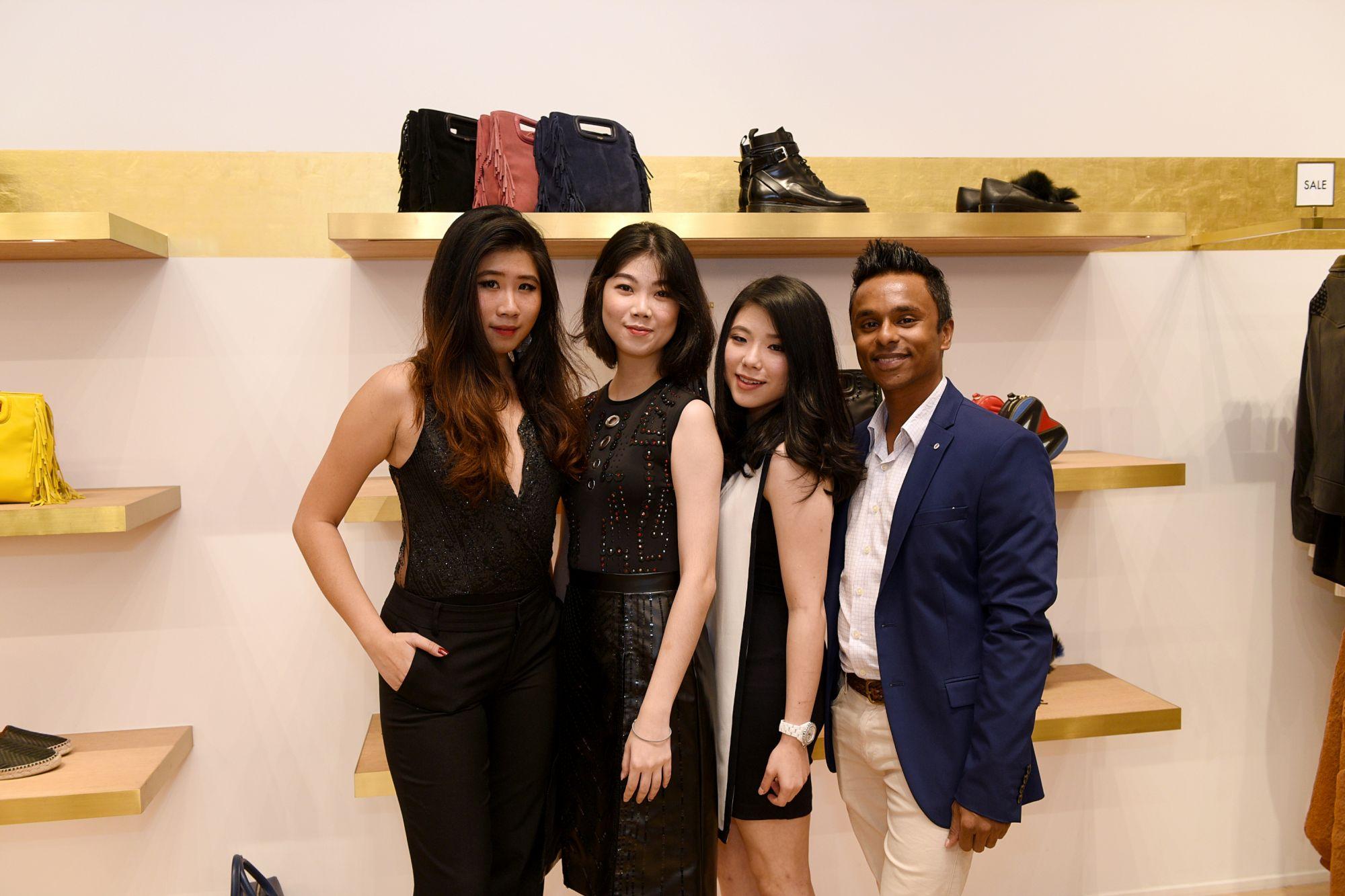 Emilia Wong, Jeslyn Xin Ying, Desiree Peh, Dinesh T