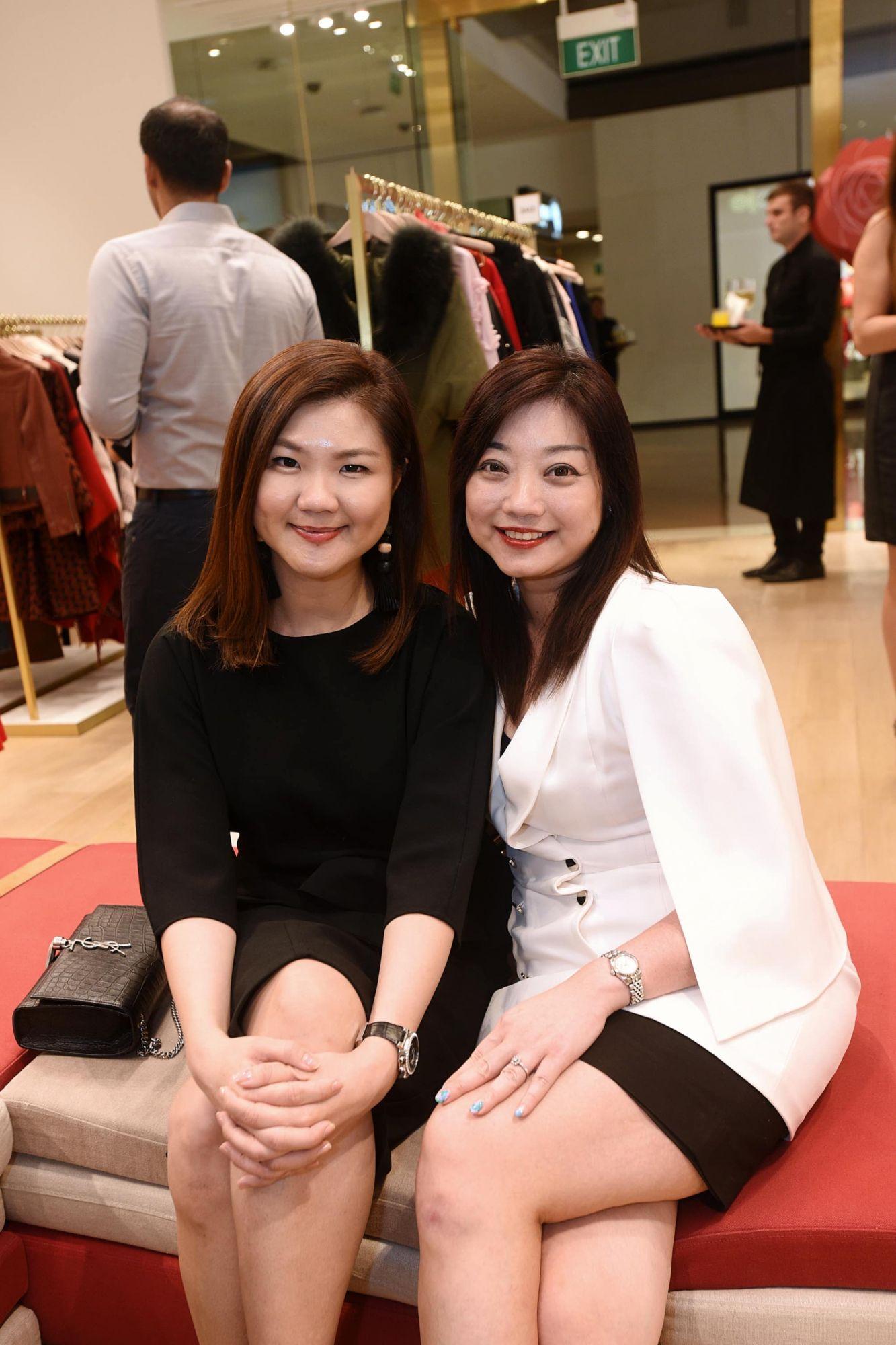 Daphne Wang, Mah Chin Cheng