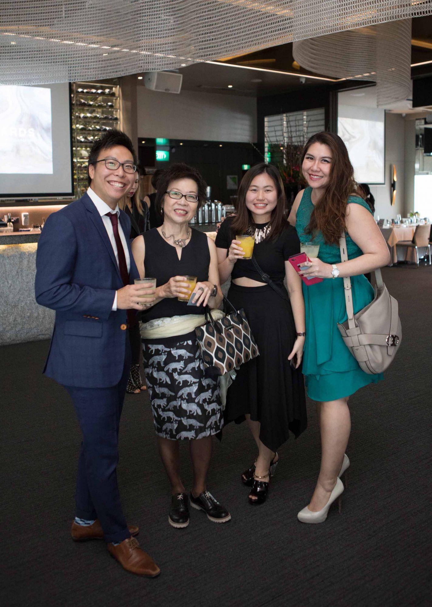 Melvyn Khong, Foong Yoke, Judy Heng, Jacqueline Ho