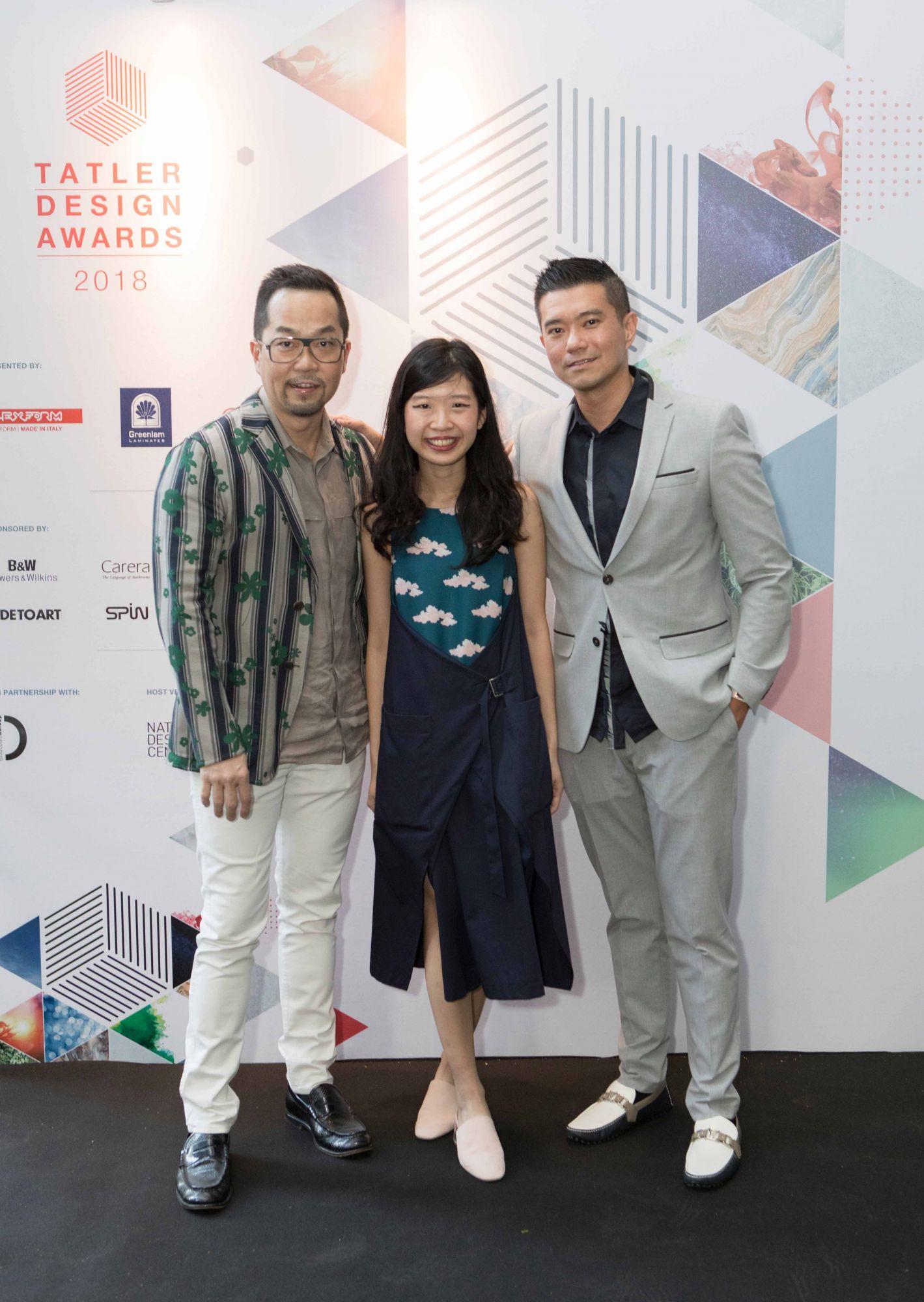 Michael Ong, Hong Xinying, Jeremy Tay