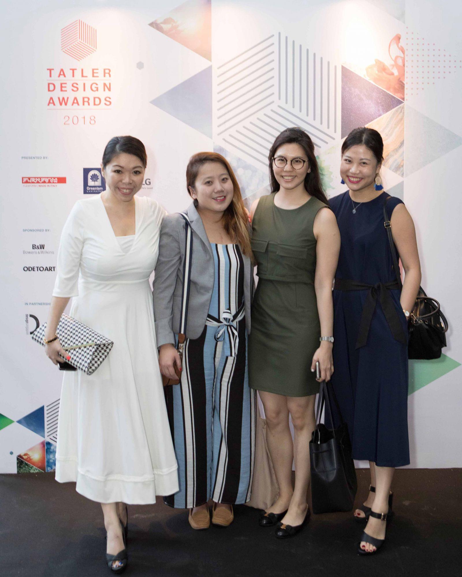 Sophia Wee, Jacinta Lee, Rachel Hong, Catherine Yang