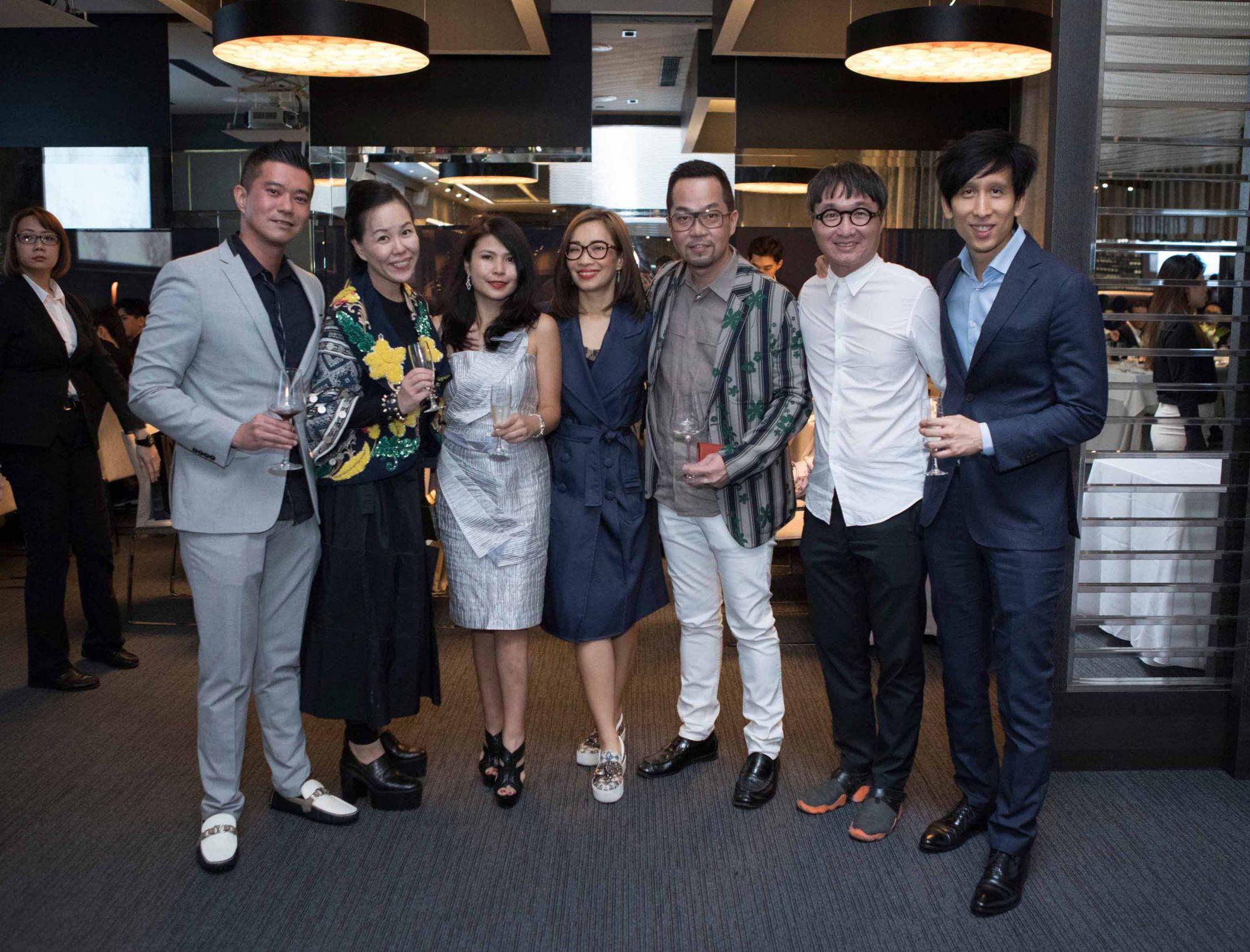 Jeremy Tay, Jazz Chong, Marilyn Lum-Tay, Corinne Ng, Michael Ong, Edmund Ng, Damien Low