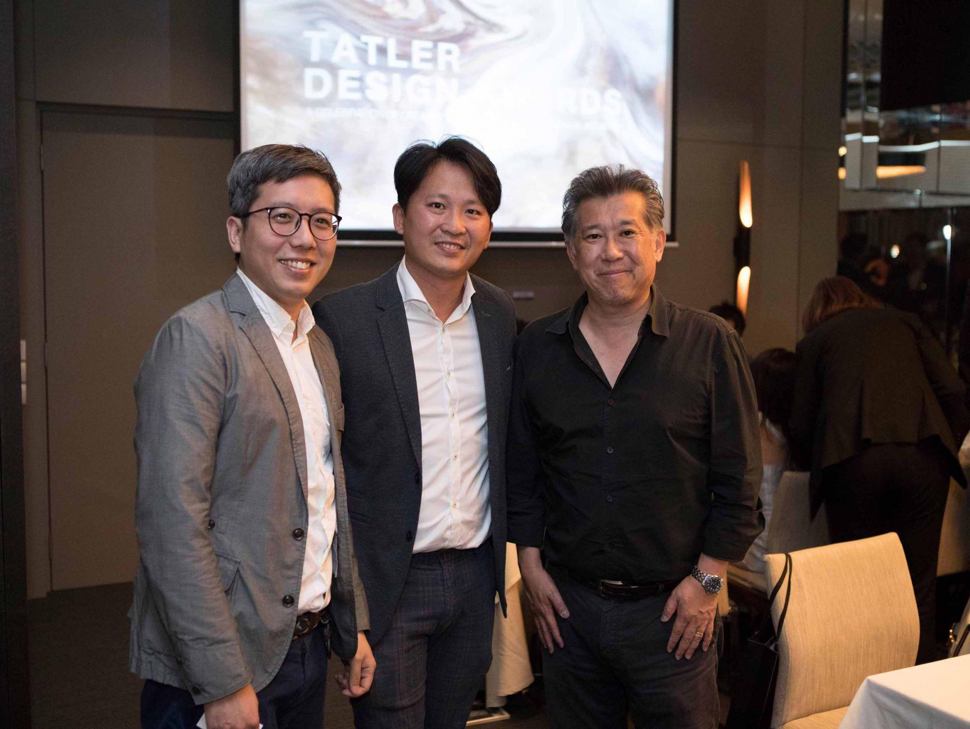 Yap Khoon Wah, Victor Loh, Rene Tan