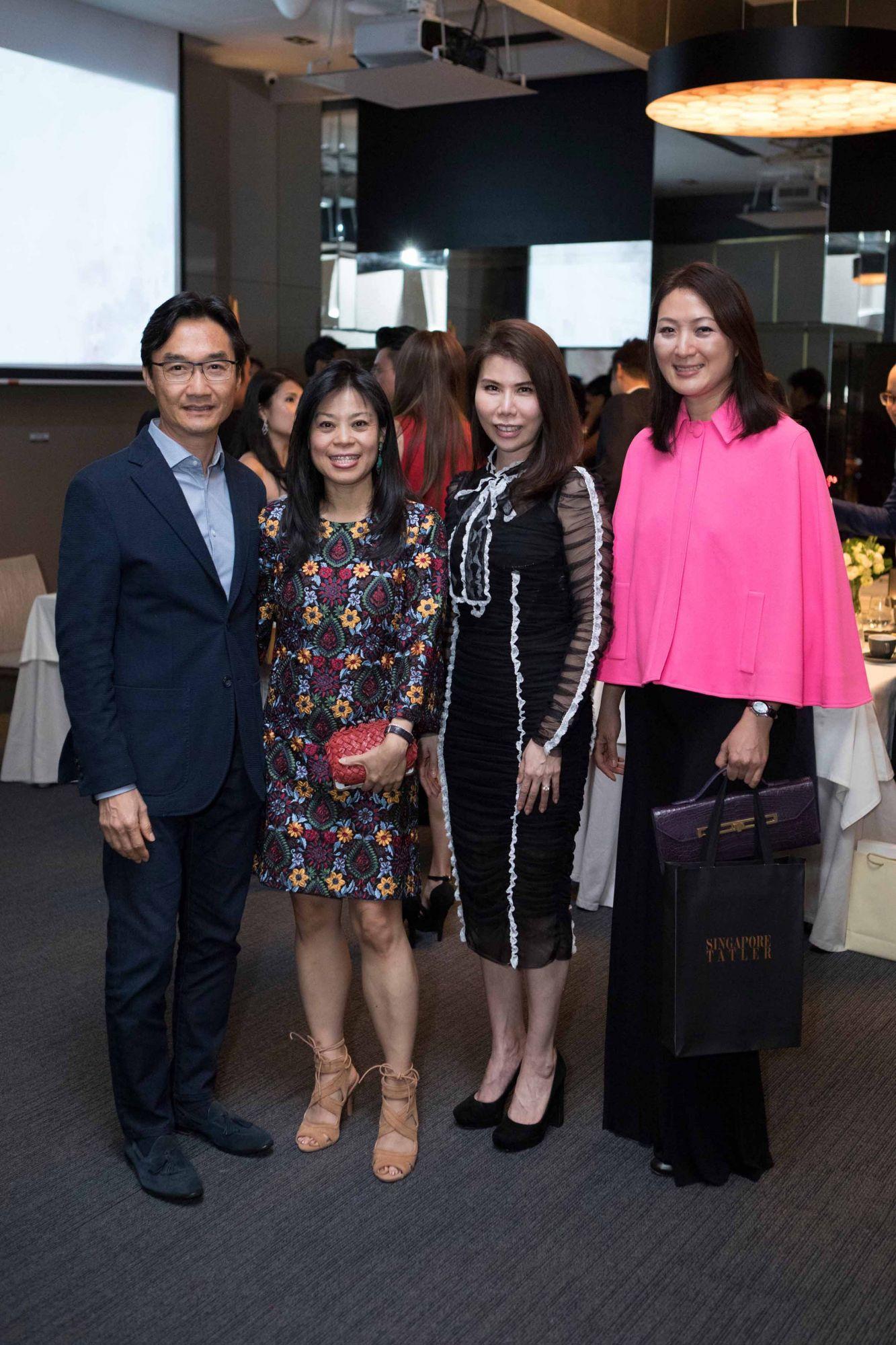 Warren Bradley Chen, Nancy Chen, Chuah Woei Woei, Nana Au-Chua