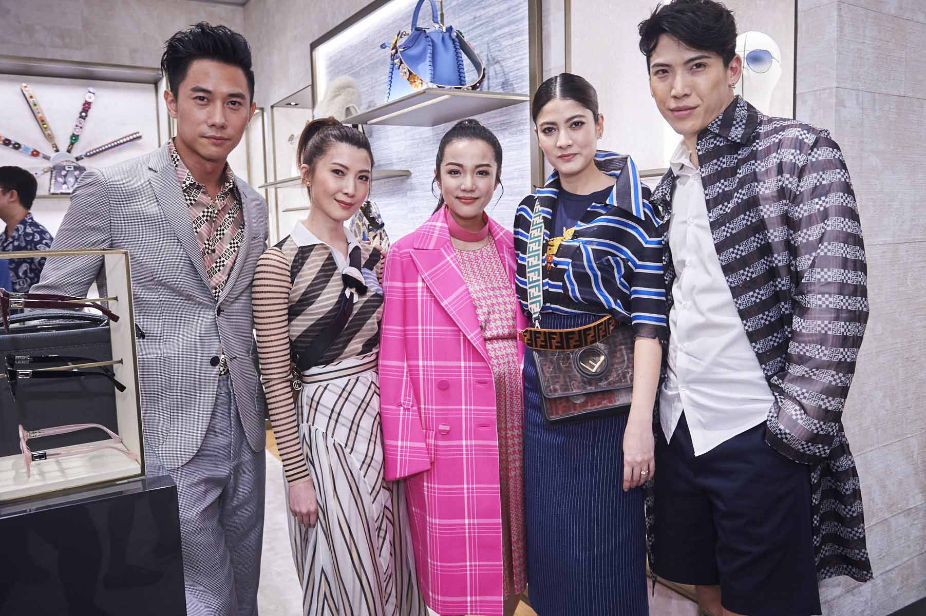 Desmond Tan, Jeanette Aw, Yoyo Cao, Rasri Balenciaga, Patsarakorn Chirathivat