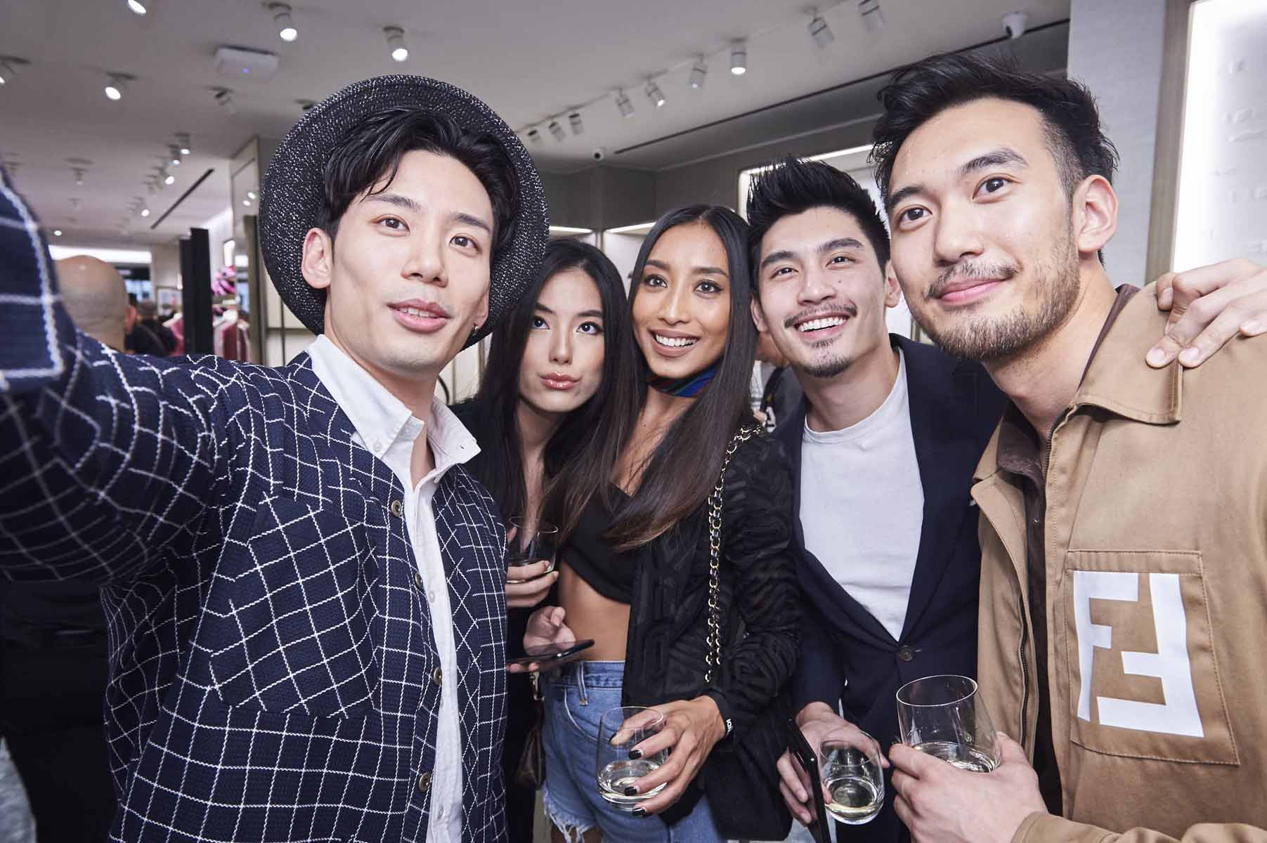 Nick Tjoa, Natalia Yen, Jona Mae, Robin Tiang, Alexander Yue