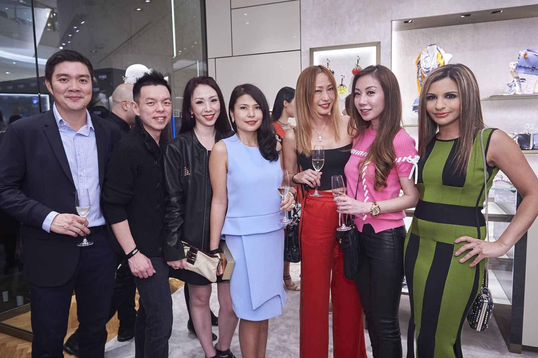 Shaun Tay, Adrian Ng, Loh May-Han, Marilyn Lum, Tan Min-Li, Alicia Loke, Rasina Rubin