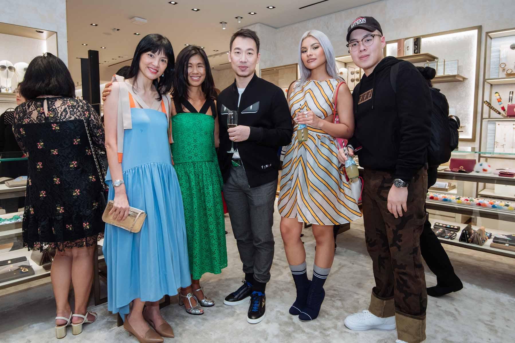 Mui Hong, Clara Goh, Chris Chong, Tabitha Nauser, Adam Choong