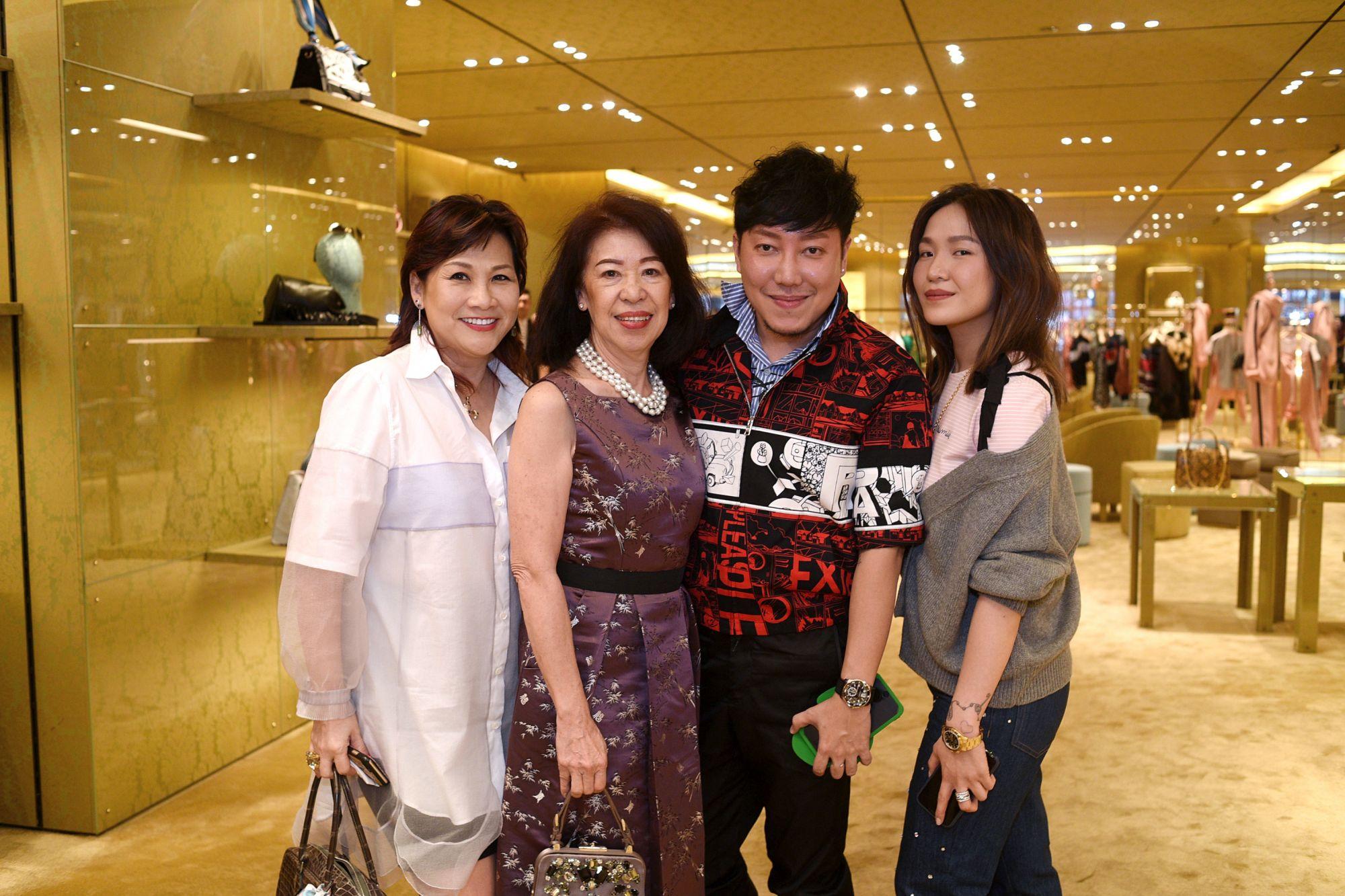 Pauline Chan, Serene Liok, Desmond Lim, Dawn Koh