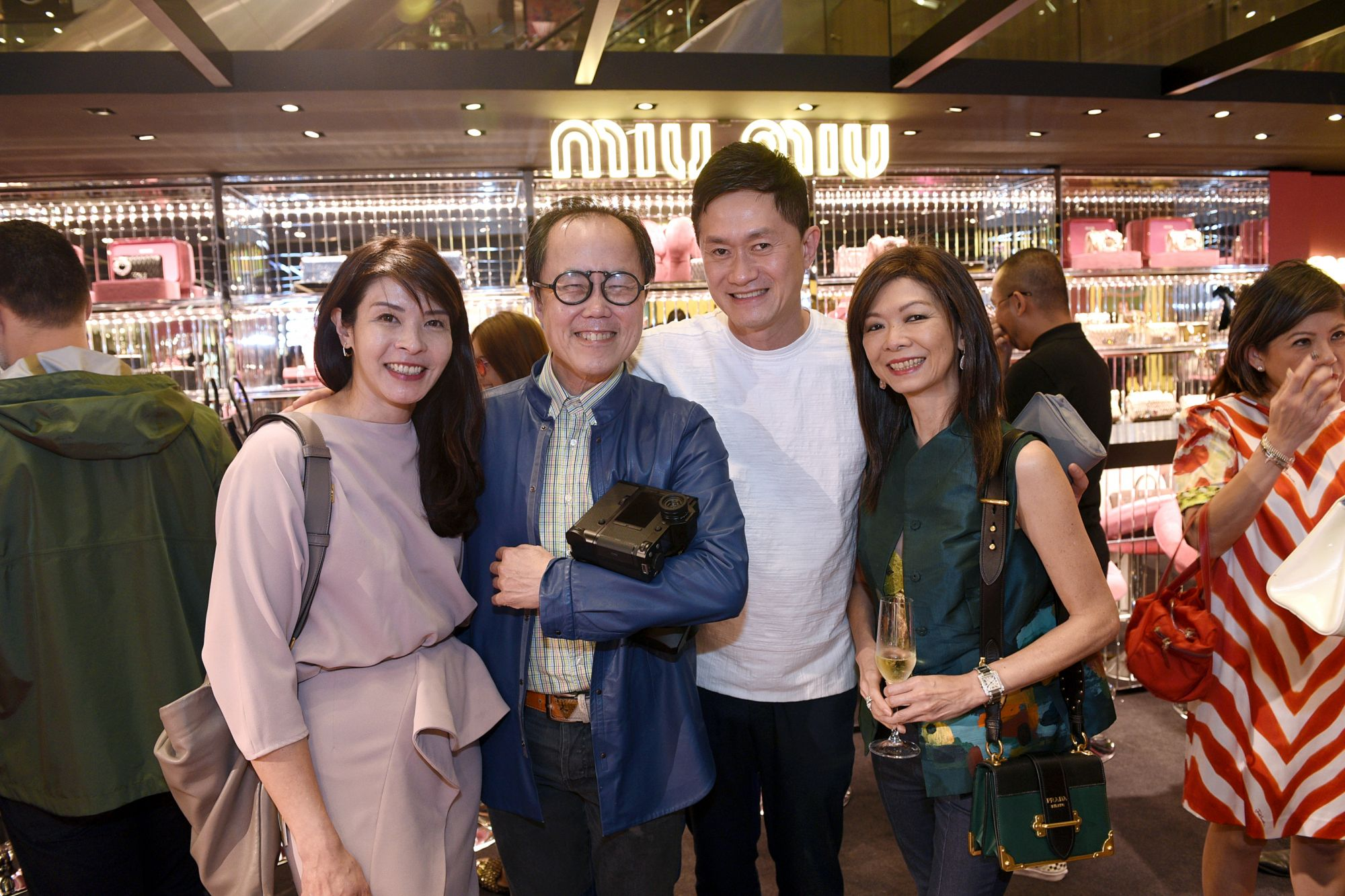 Winnie Chan, Bernard Cheong, James Quan, Dolly Cheong