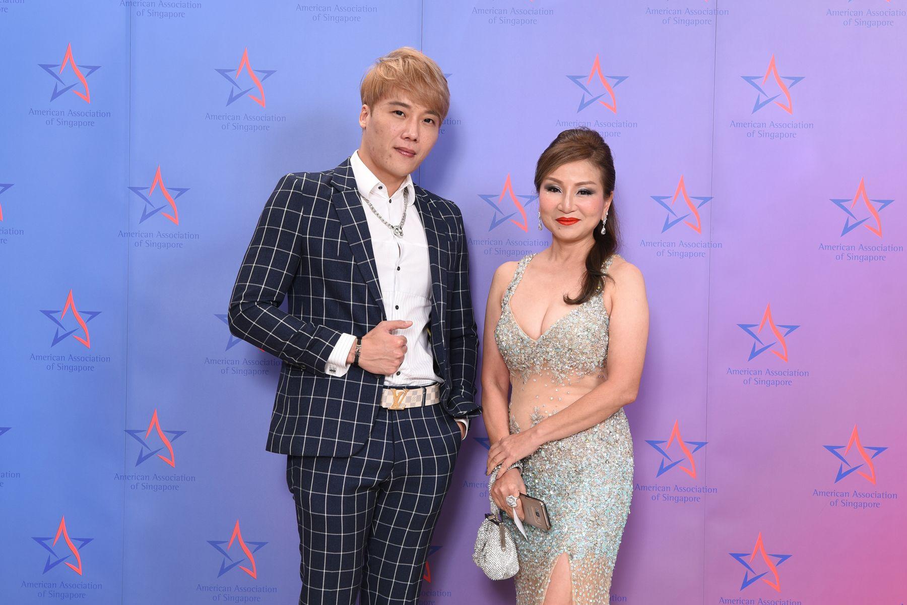 Trevor Lin, Rachel Wong