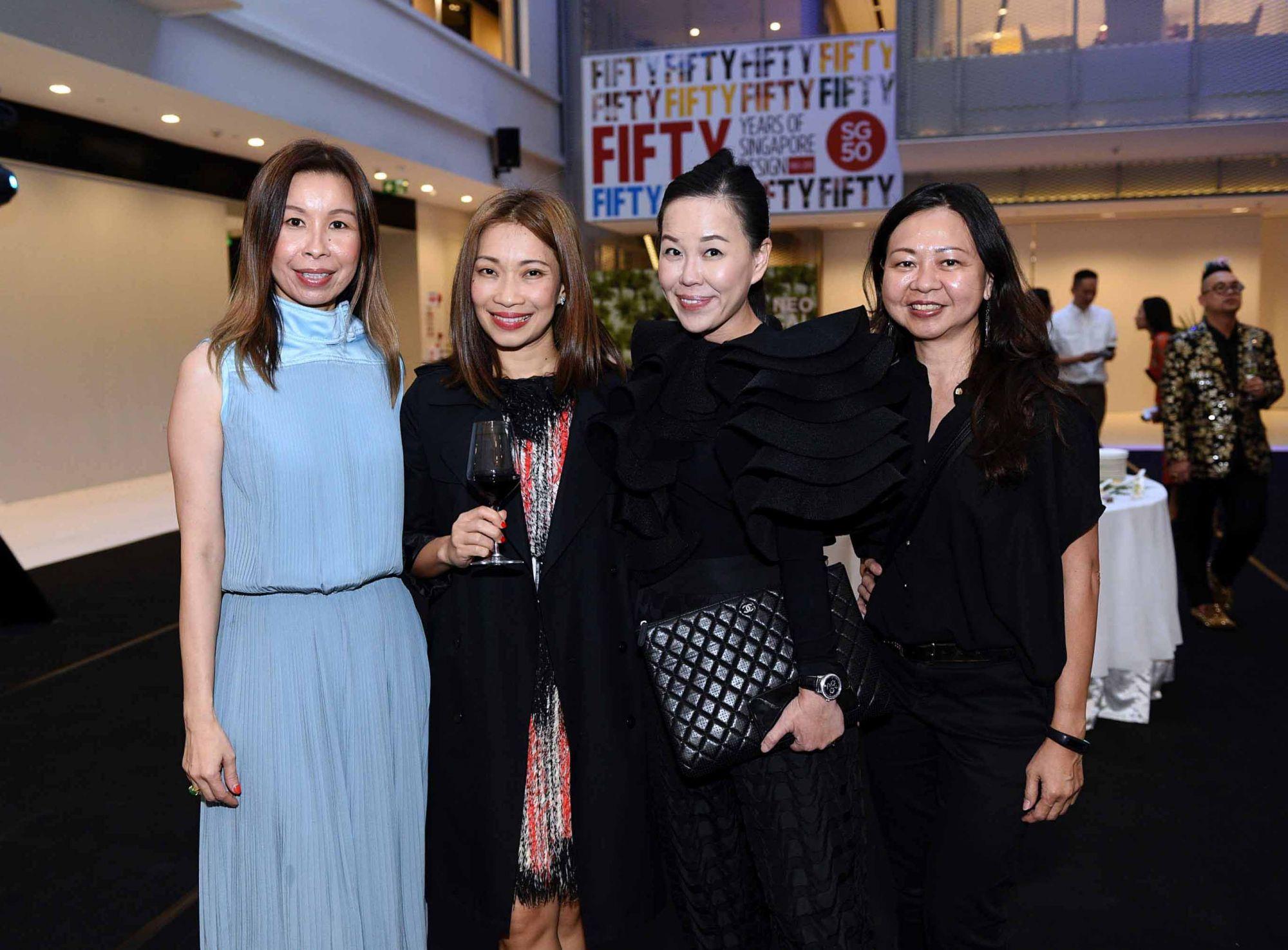 Stephanie Tay, Corinne Ng, Jazz Chong, Joanne Low