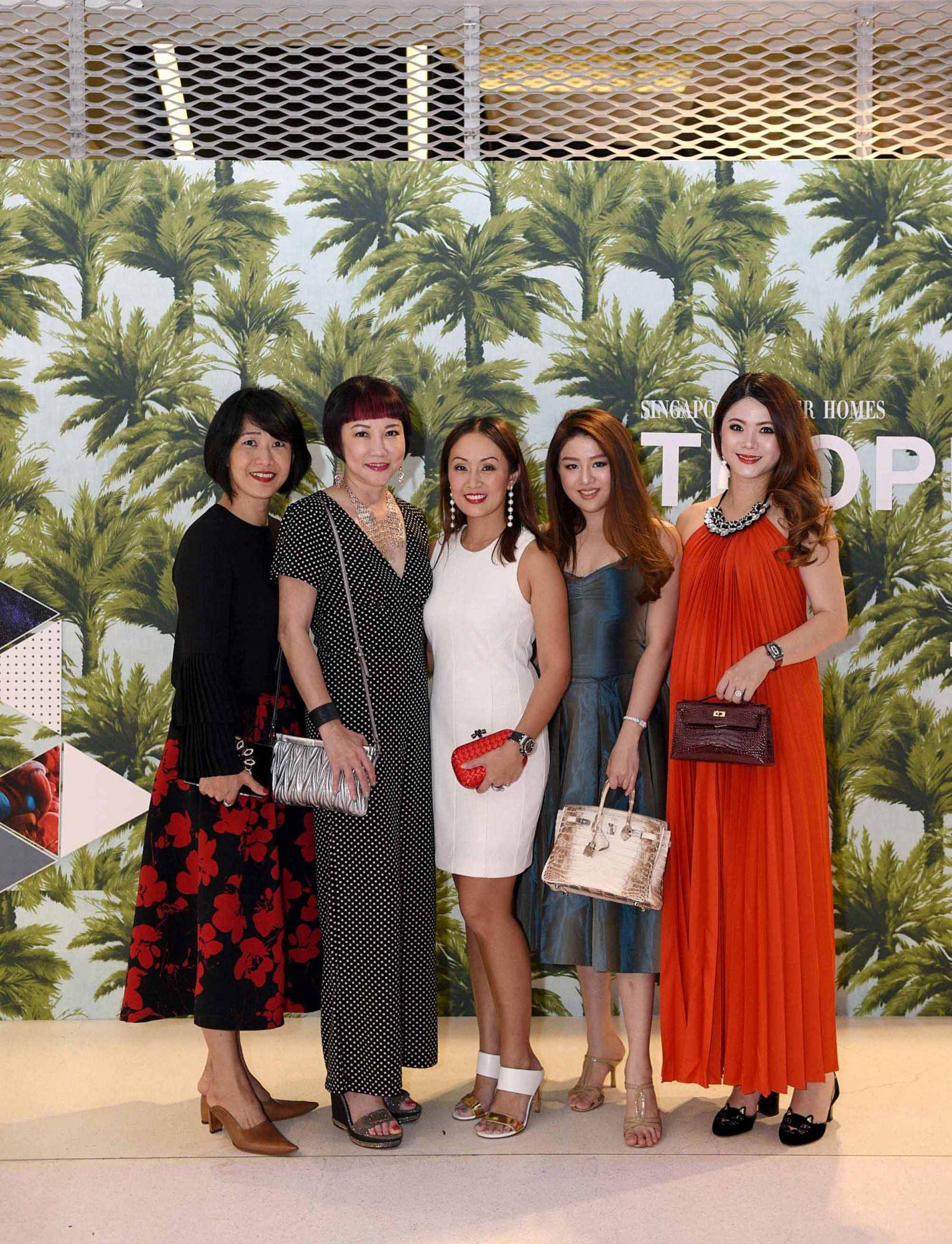 Nancy Ong, Frances Low, Serene Chua, Pamela Ardena, Chermaine Pang