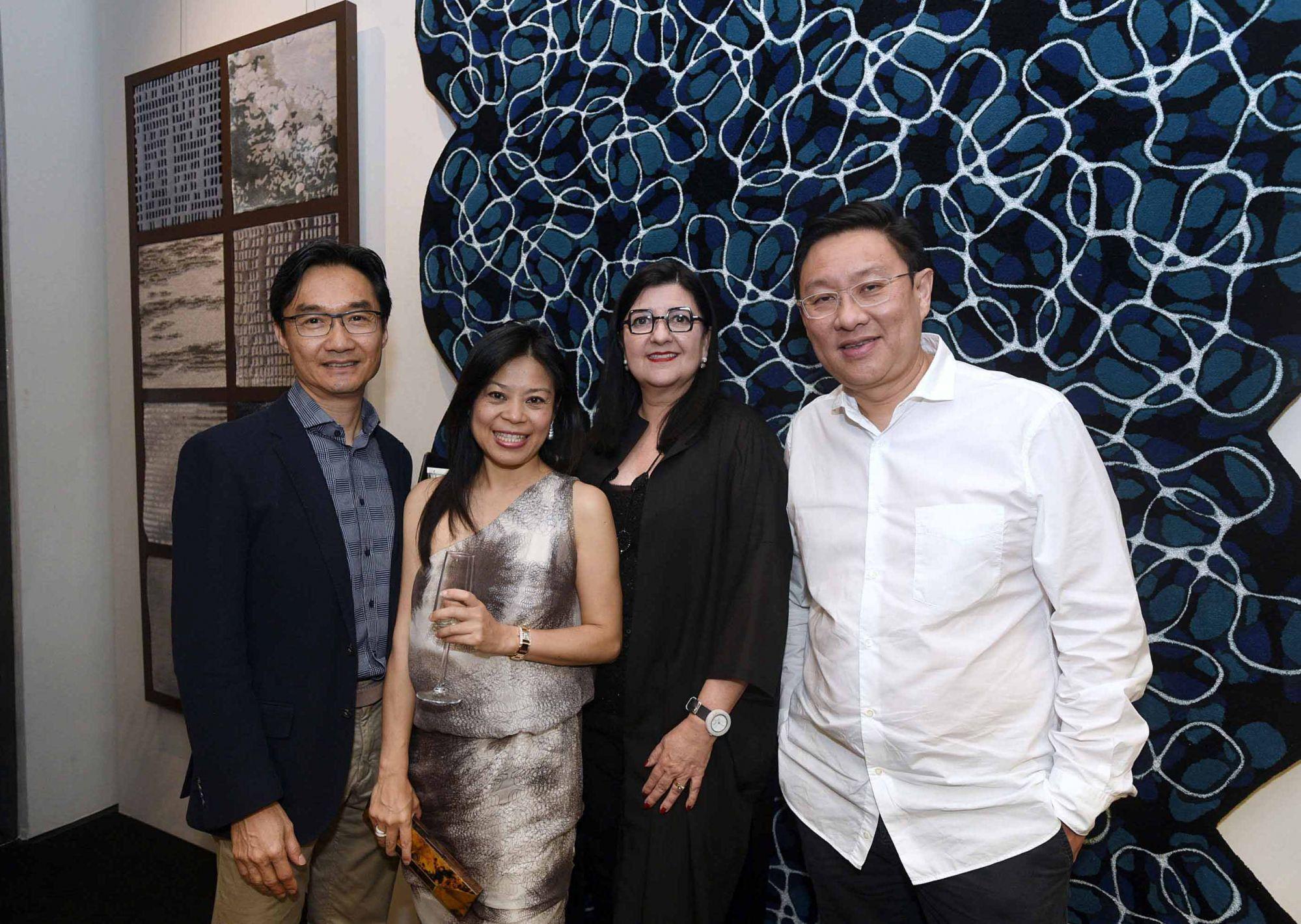 Warren Bradley Chen, Nancy Chen, Maria Warner Wong, Wong Chiu Man