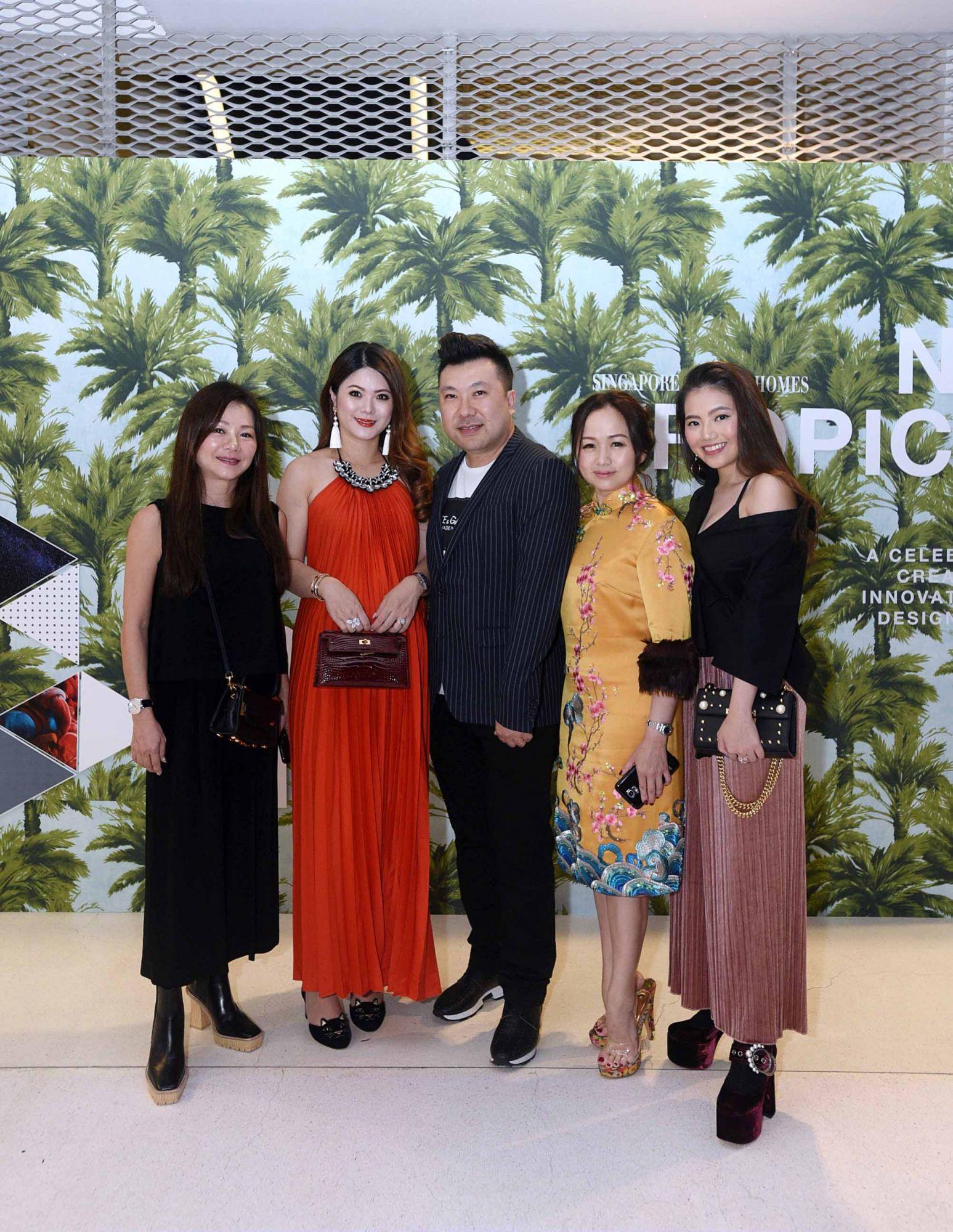 Angela Ng, Chermaine Pang, Terence Siew, Tonya Tan, Vanessa Ng