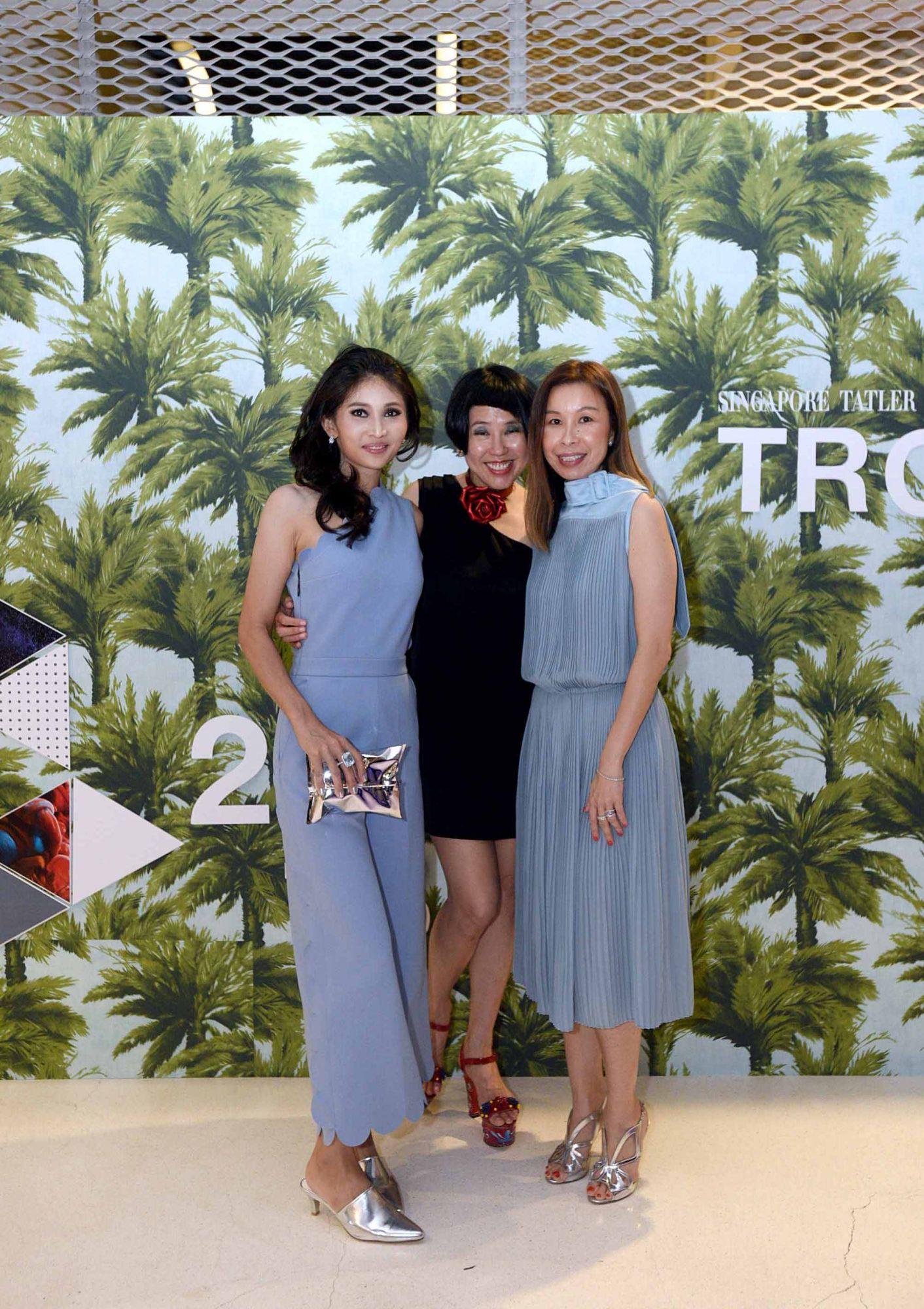 Karen Ong-Tan, Rosalynn Tay, Stephanie Tay