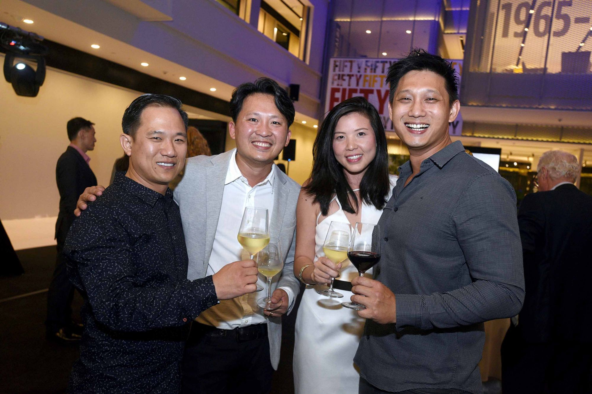 Vincent Lim, Victor Loh, Sharon Su, Terrence Quah