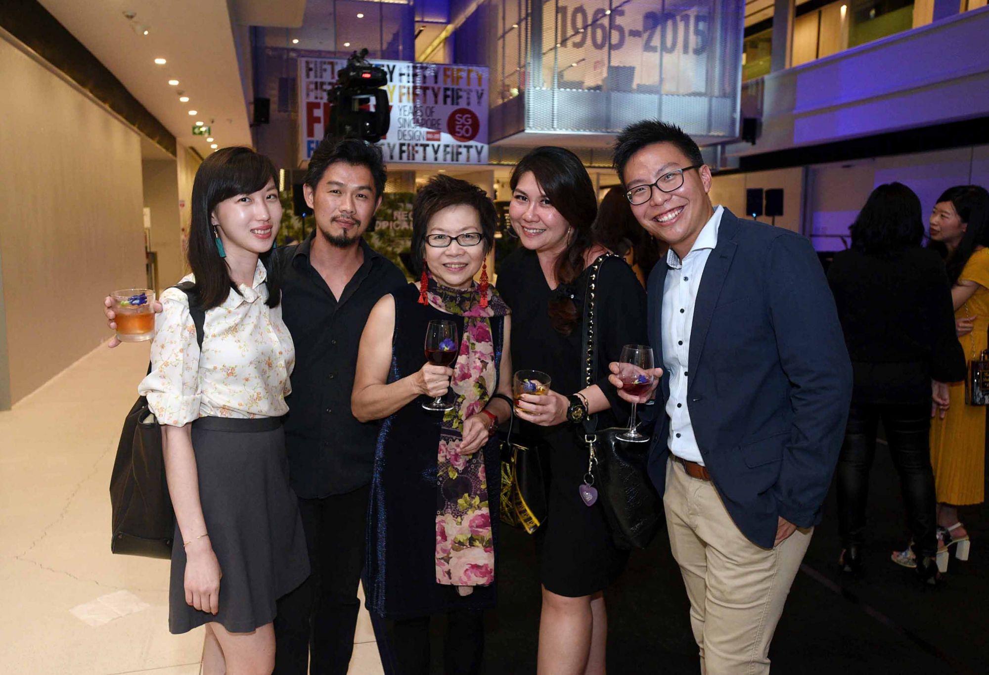 Karyn Lim, PC Ee, Foong Yoke, Jacqueline Ho, Melvyn Khong