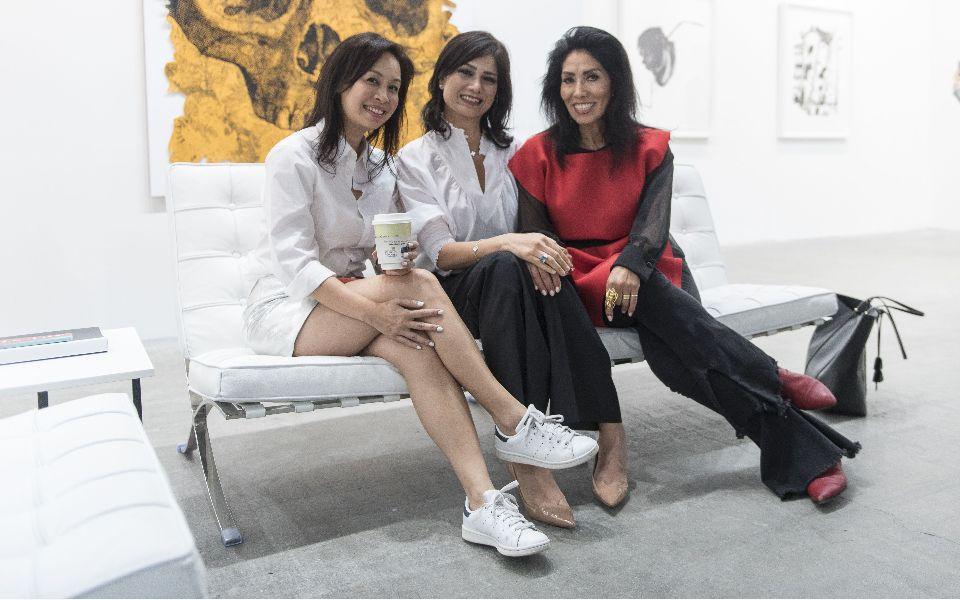 Lynette Wong, Rita Targui, Maria Elena Rudolf