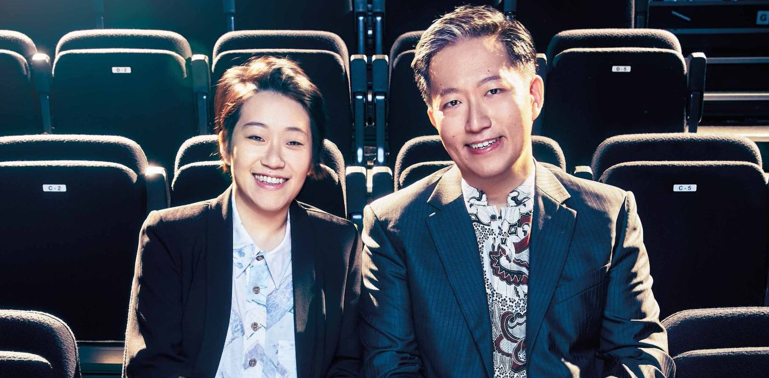 Kirsten and Benjamin Tan