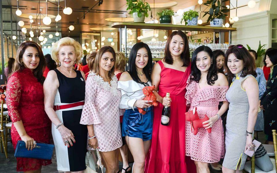 Dimple Aswani, Gerti Iwatake, Renuca Metharam, Nina Ng, Nana Au-Chua, Tan Khar Nai, Florence Neo
