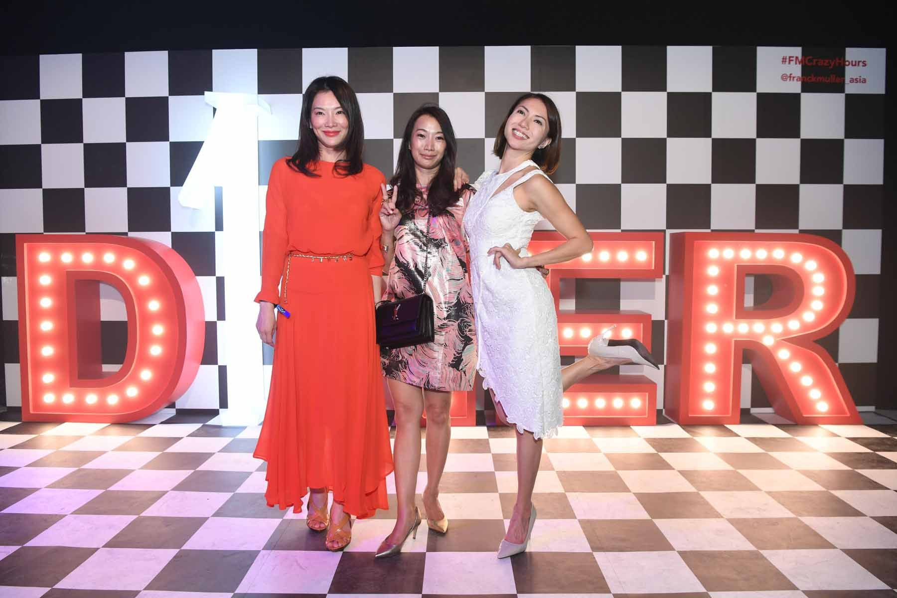 Michelle Goh, Karen Gu, Chew Soo Wei