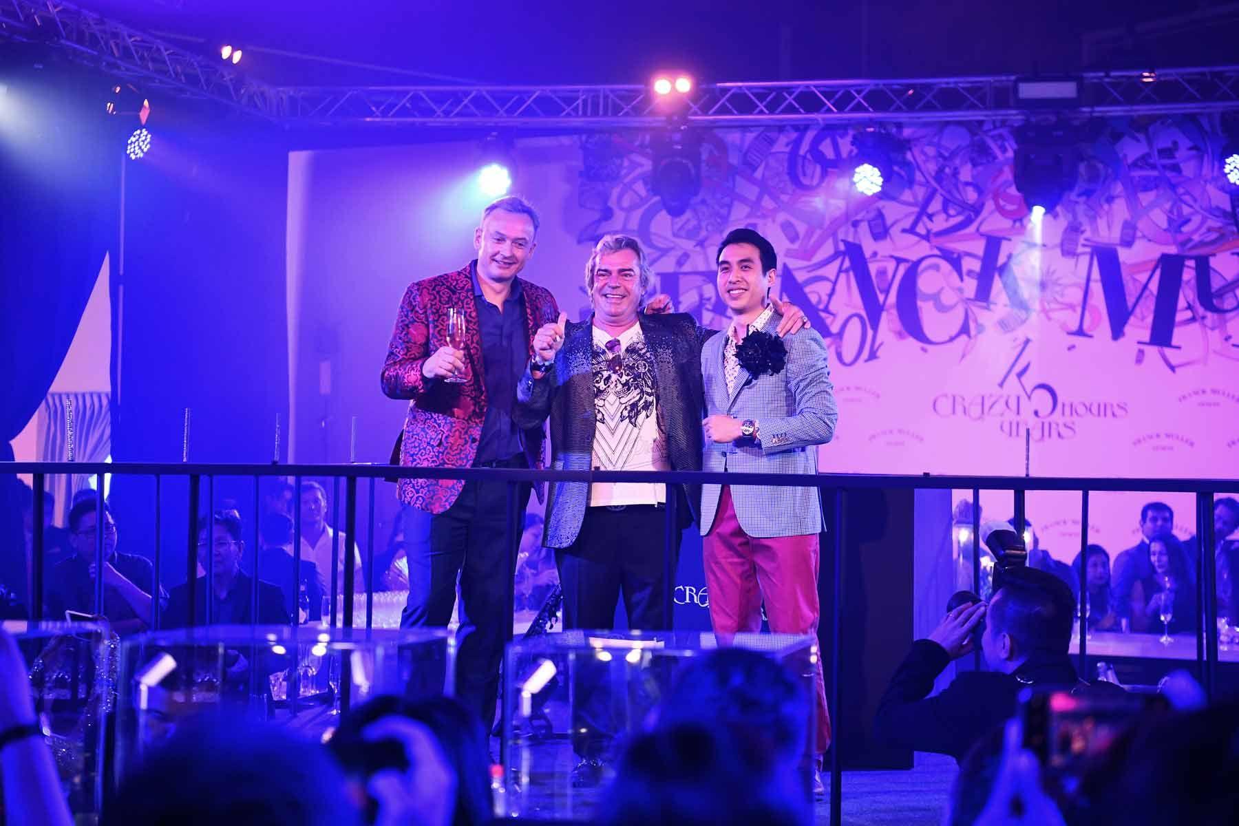 Nicholas Rudaz, Franck Muller, Kingston Chu